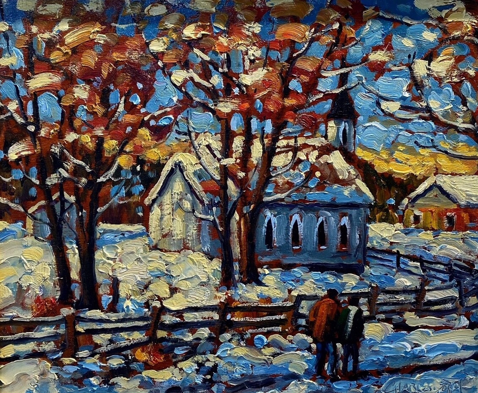 Rod Charlesworth - Early Snow by Historical Art
