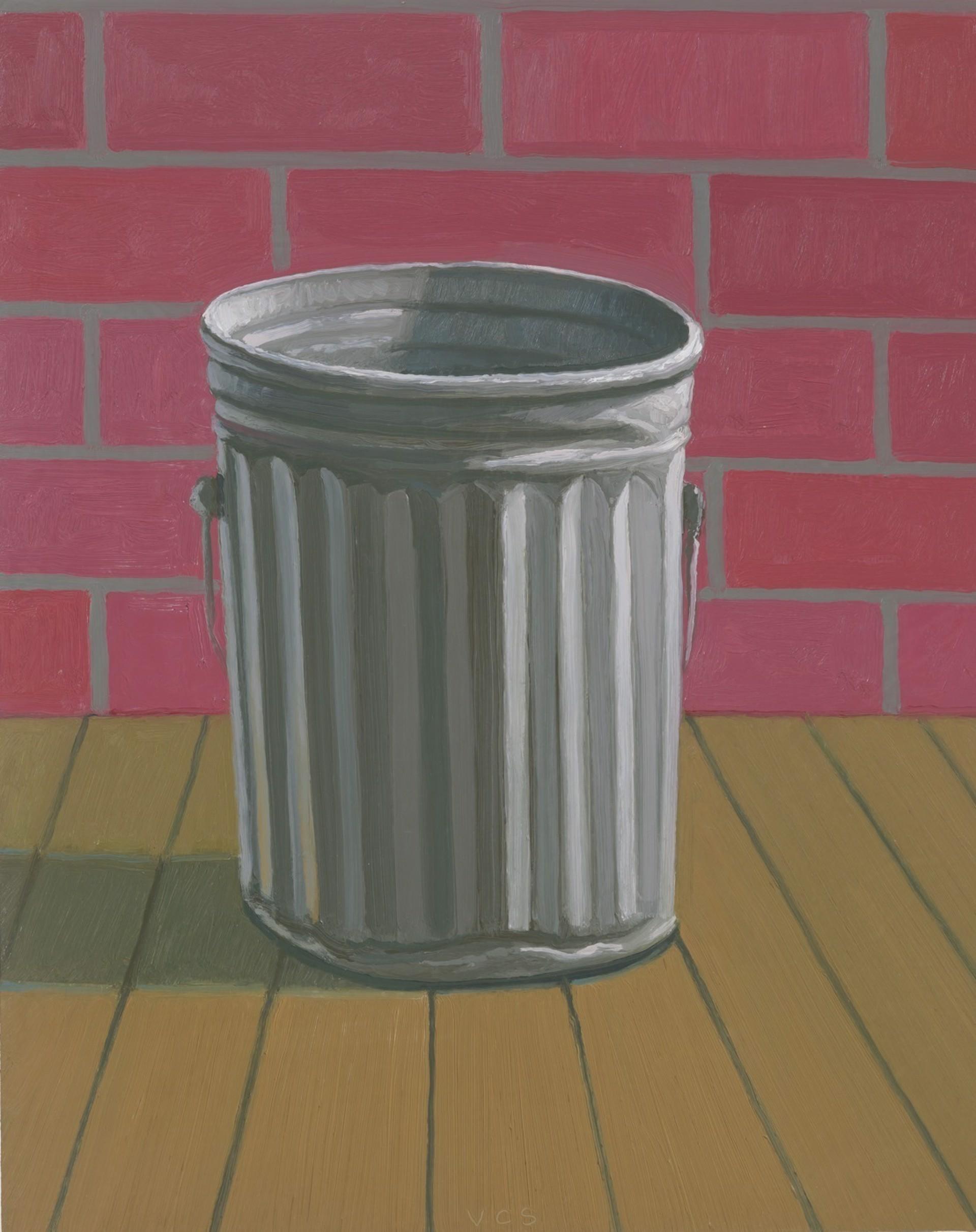 Trashcan (Brick Wall) by Vonn Cummings Sumner