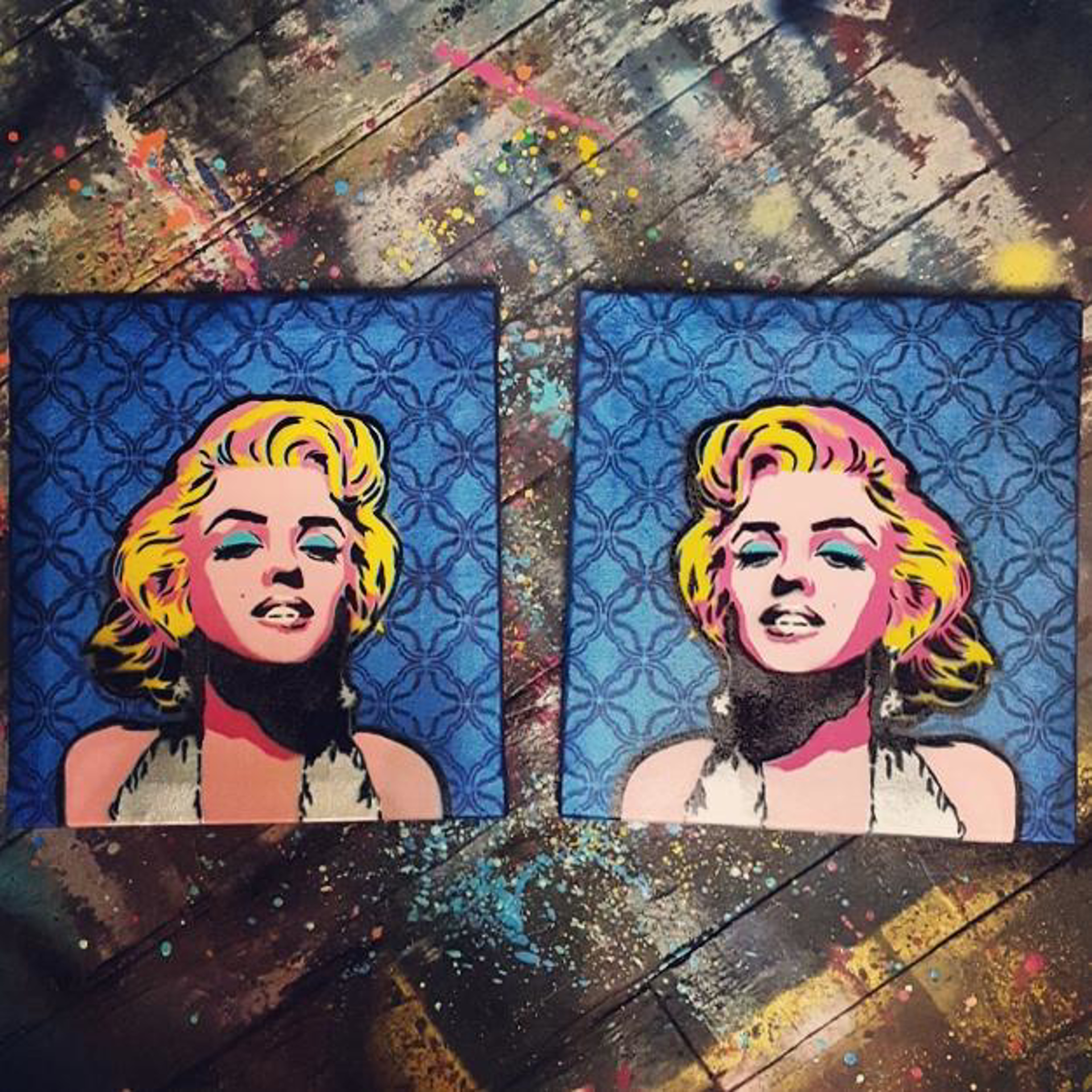 Double Marilyn (seperately $450 each) by Joss Parker