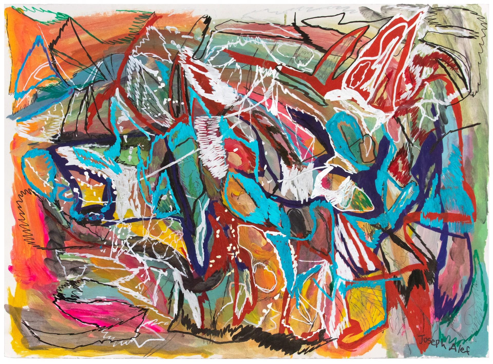 Joseph Alef - Untitled (JA 98) by Visiting Artist