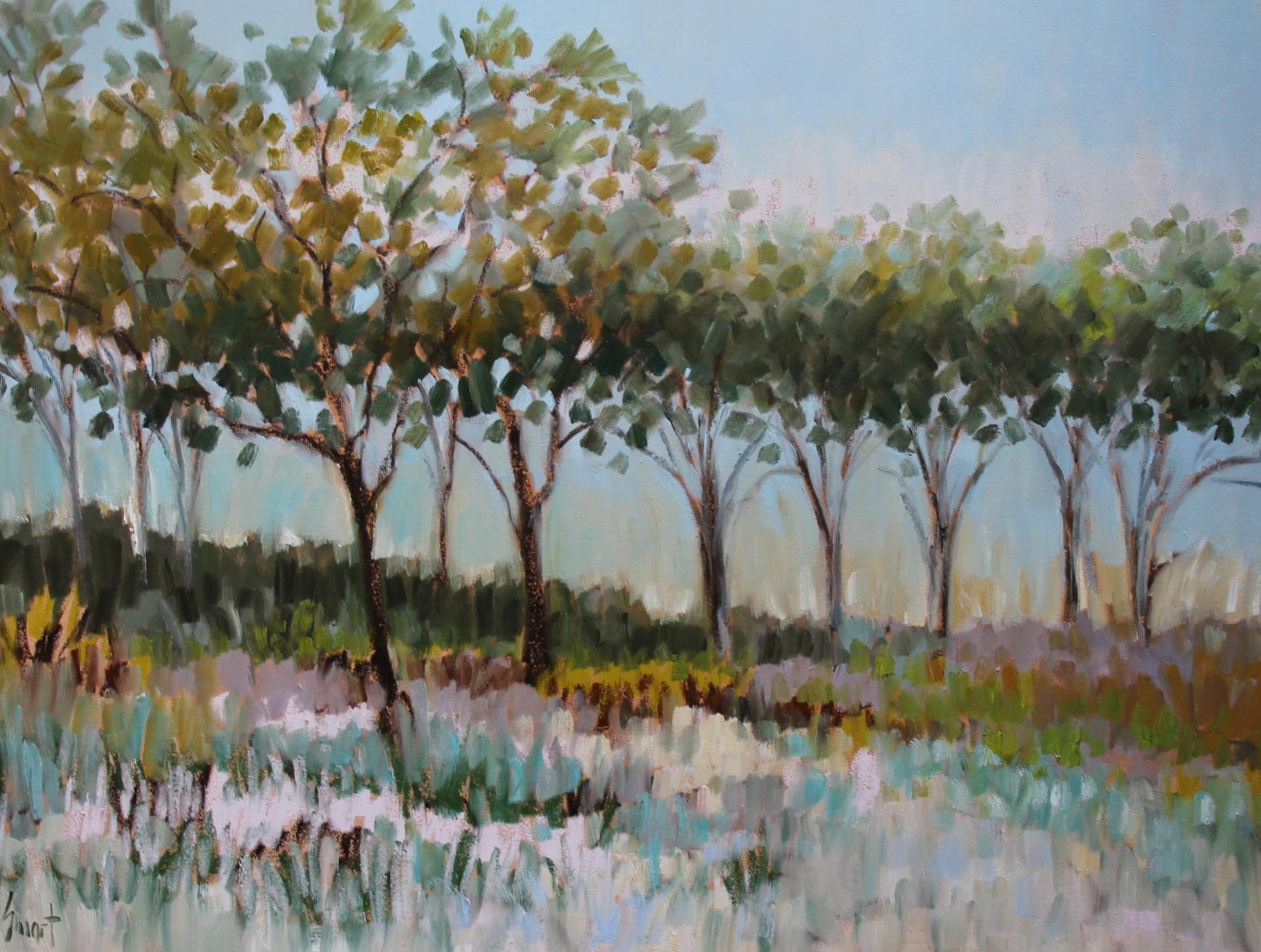 Coastal Trees by Libby Smart