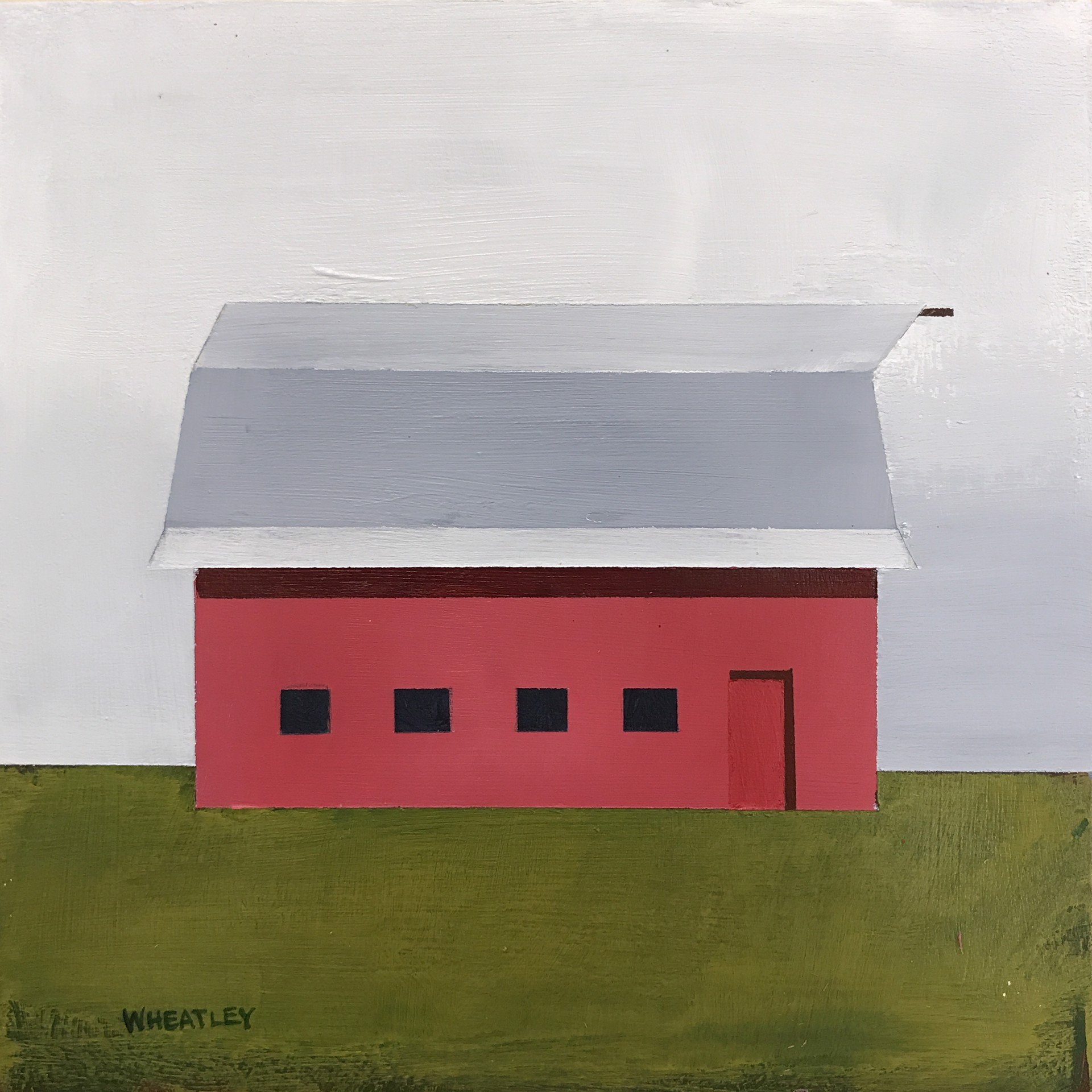 Red Barn 6 by Justin Wheatley