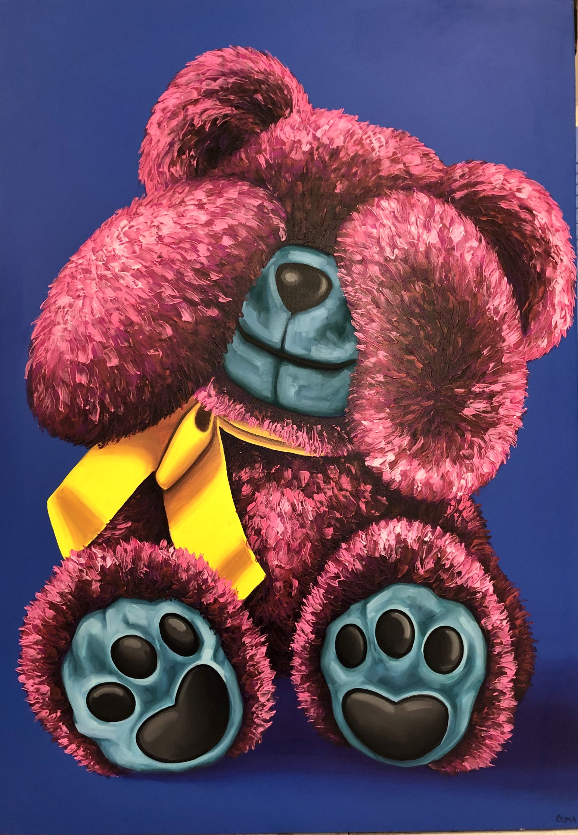 """Shy Bear"" Bear Series  by Buma Project"