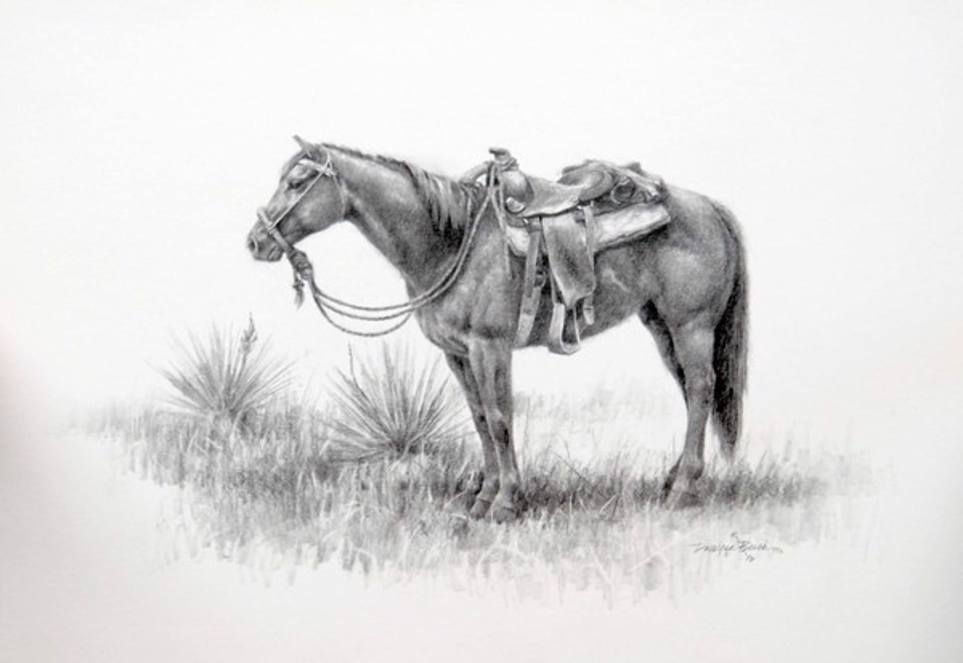 Horse by Dwayne Brech