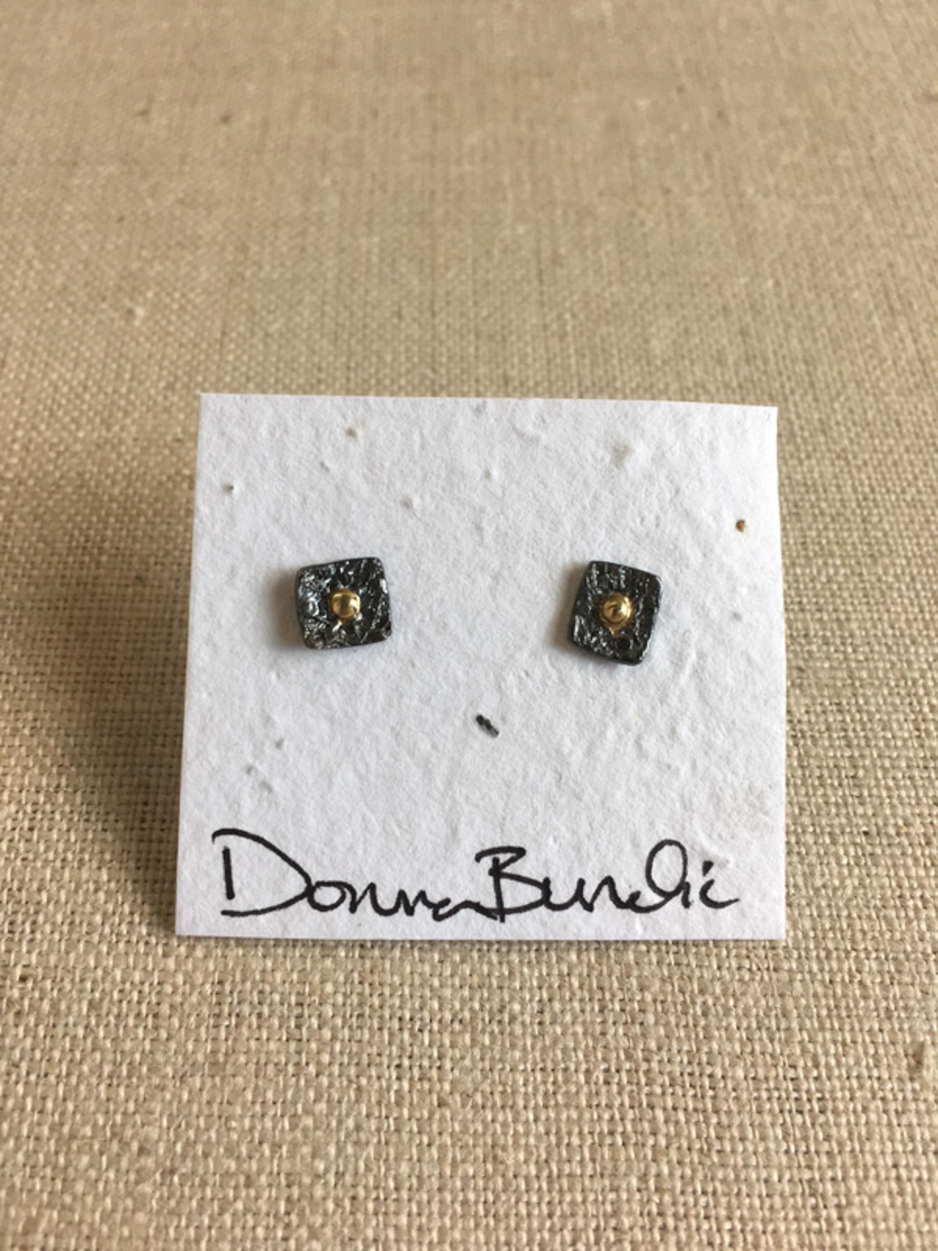 1386-7 Earrings by Donna Burdic