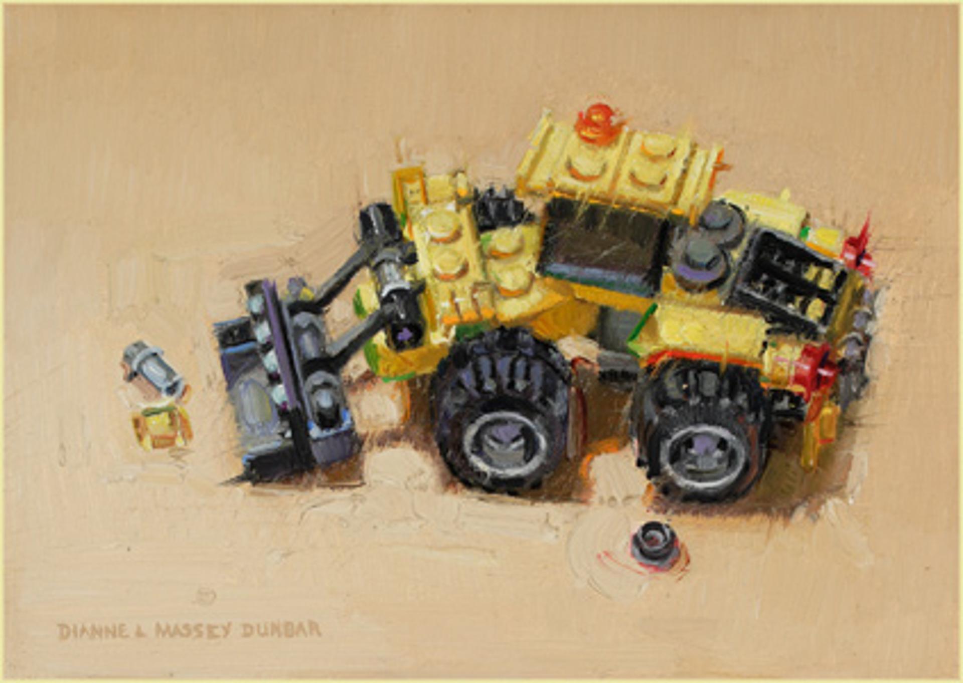 Yellow Digger by Dianne L Massey Dunbar