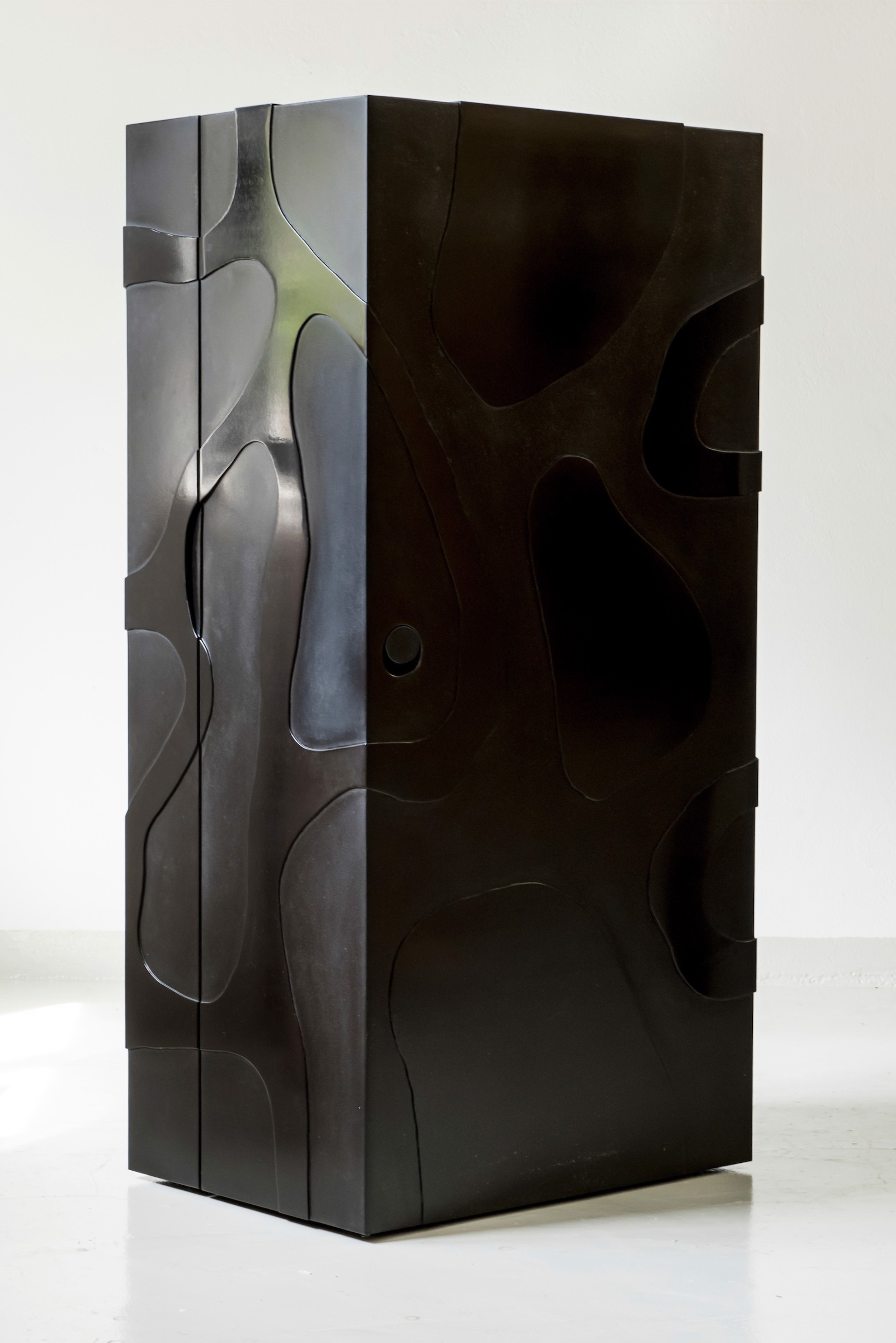 """""""Meanders"""" Cabinet with Desk  by Jacques Jarrige"""