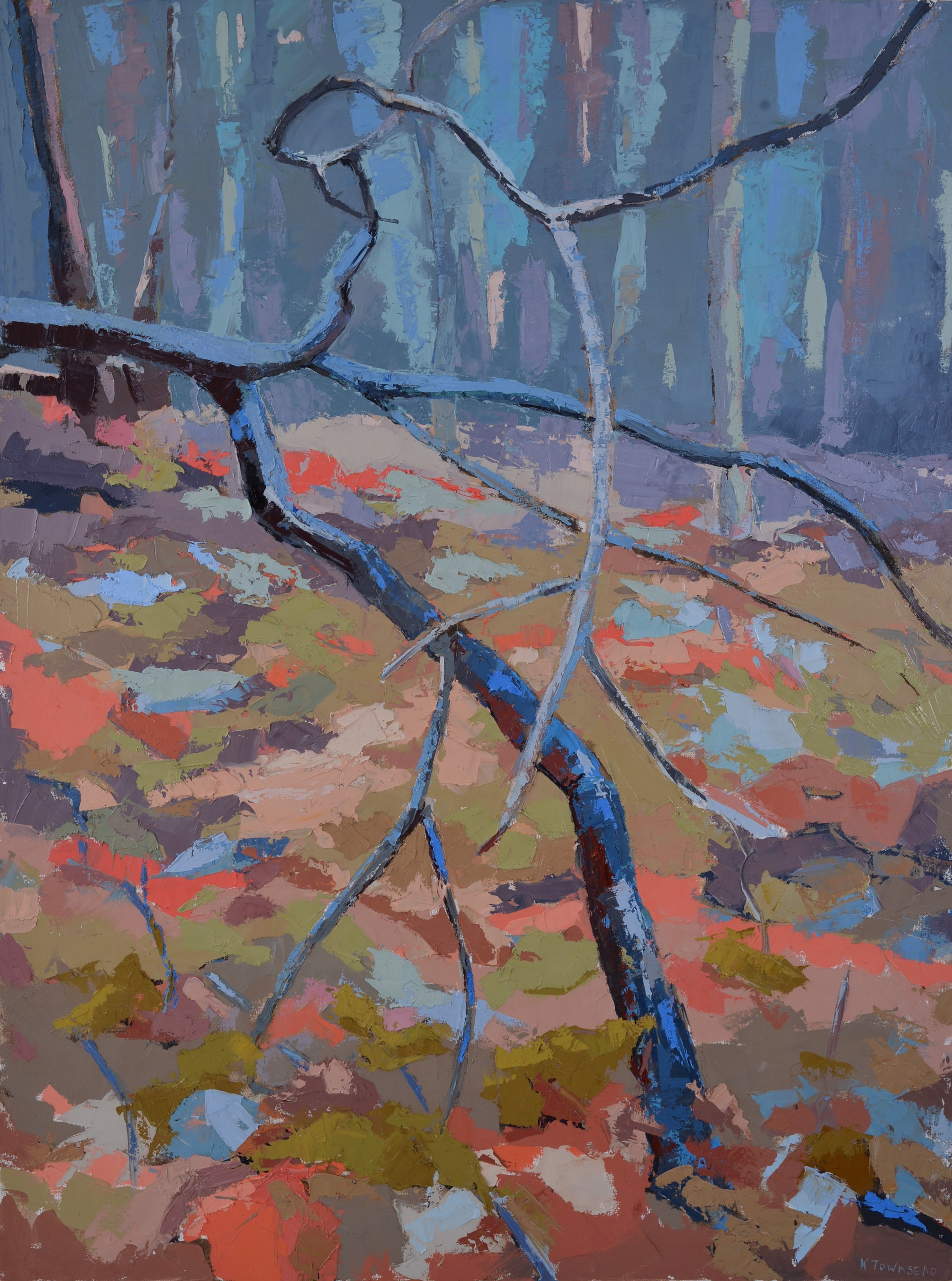 Blue Stick by Krista Townsend