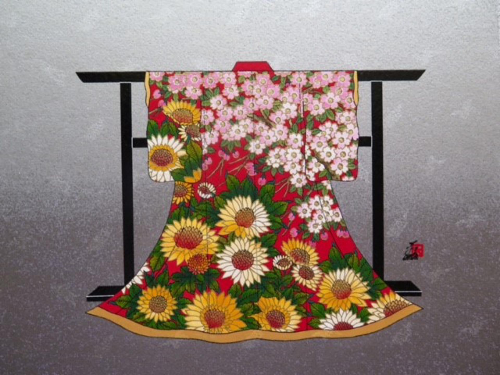 Passion #12 (Mini Kimono) by Hisashi Otsuka