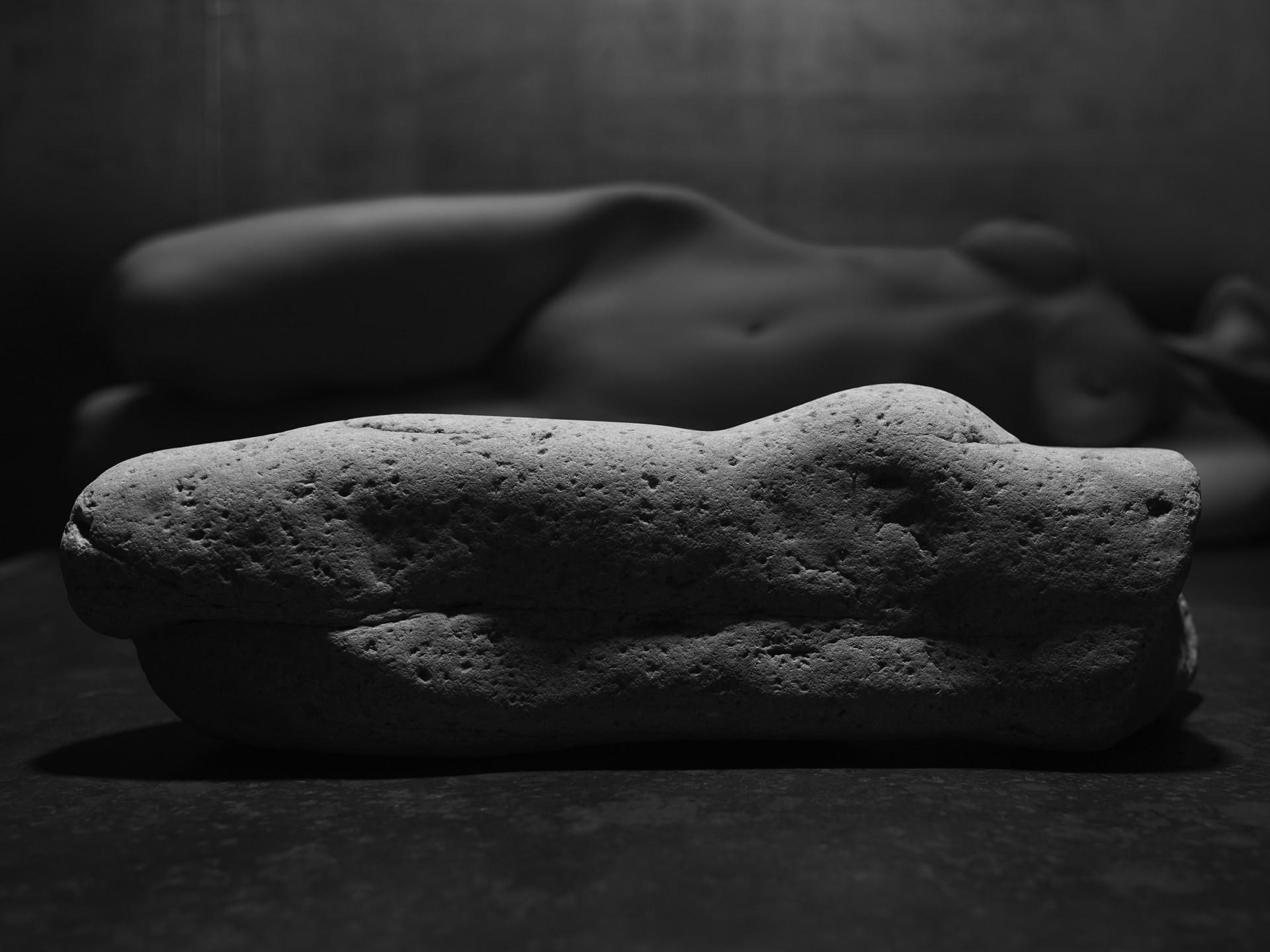 Horizontal Torso by Frank Sherwood White