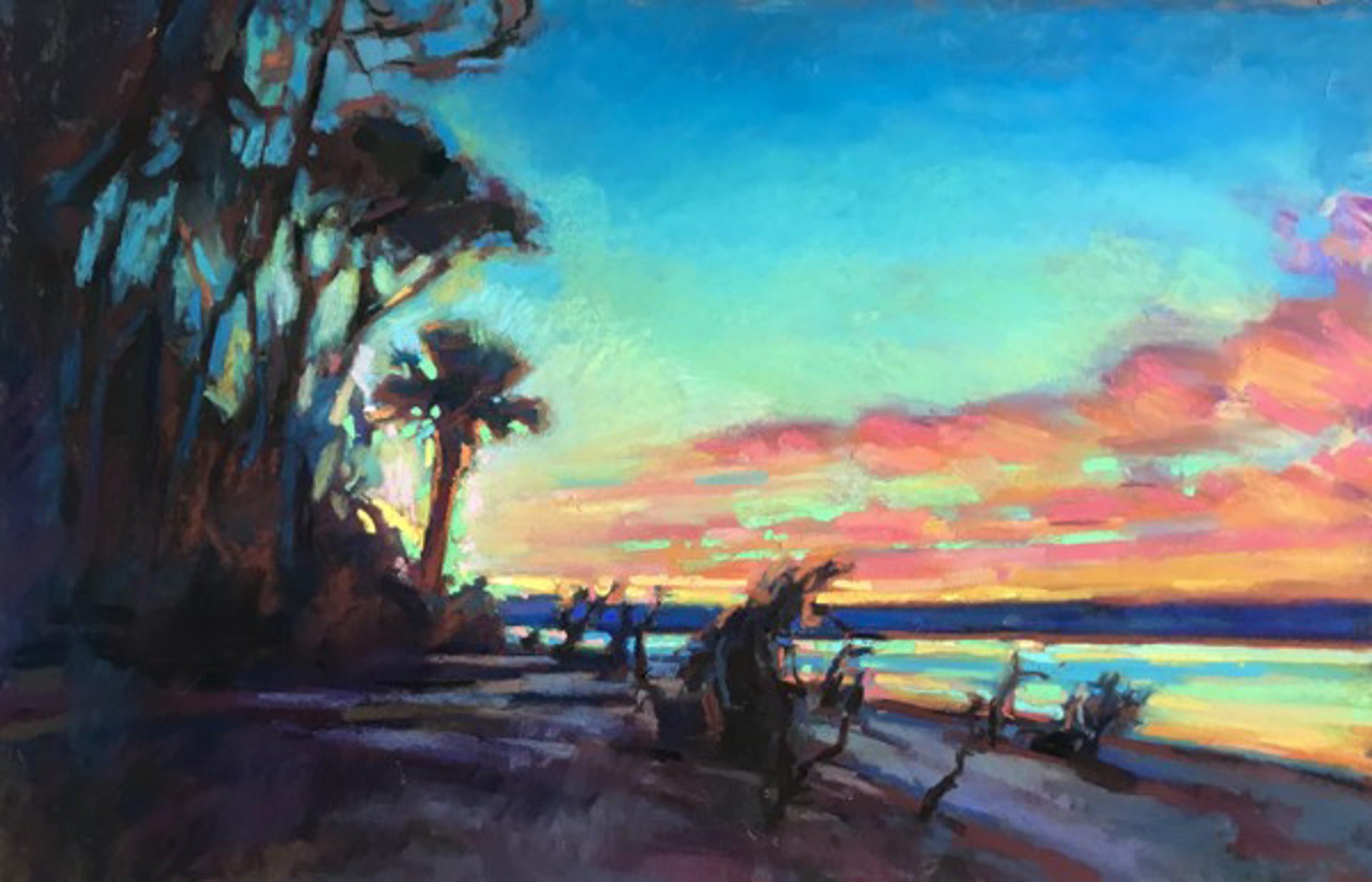 Inlet at Sunrise by Susan Mayfield