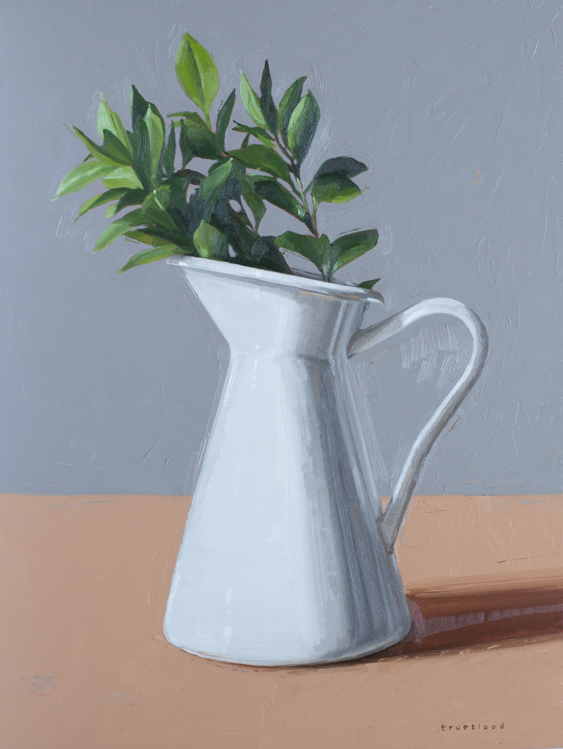 Greenery in Pitcher by Megan Trueblood