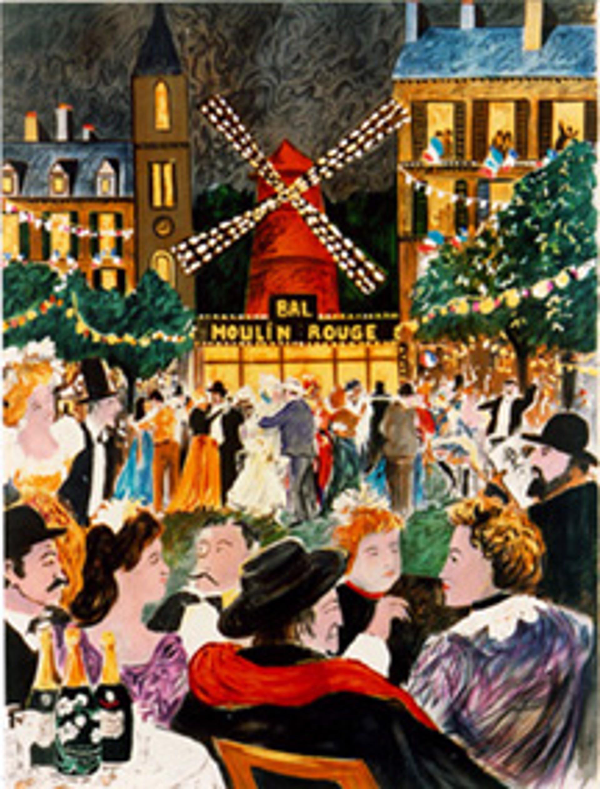 Moulin Rouge by Guy Buffet