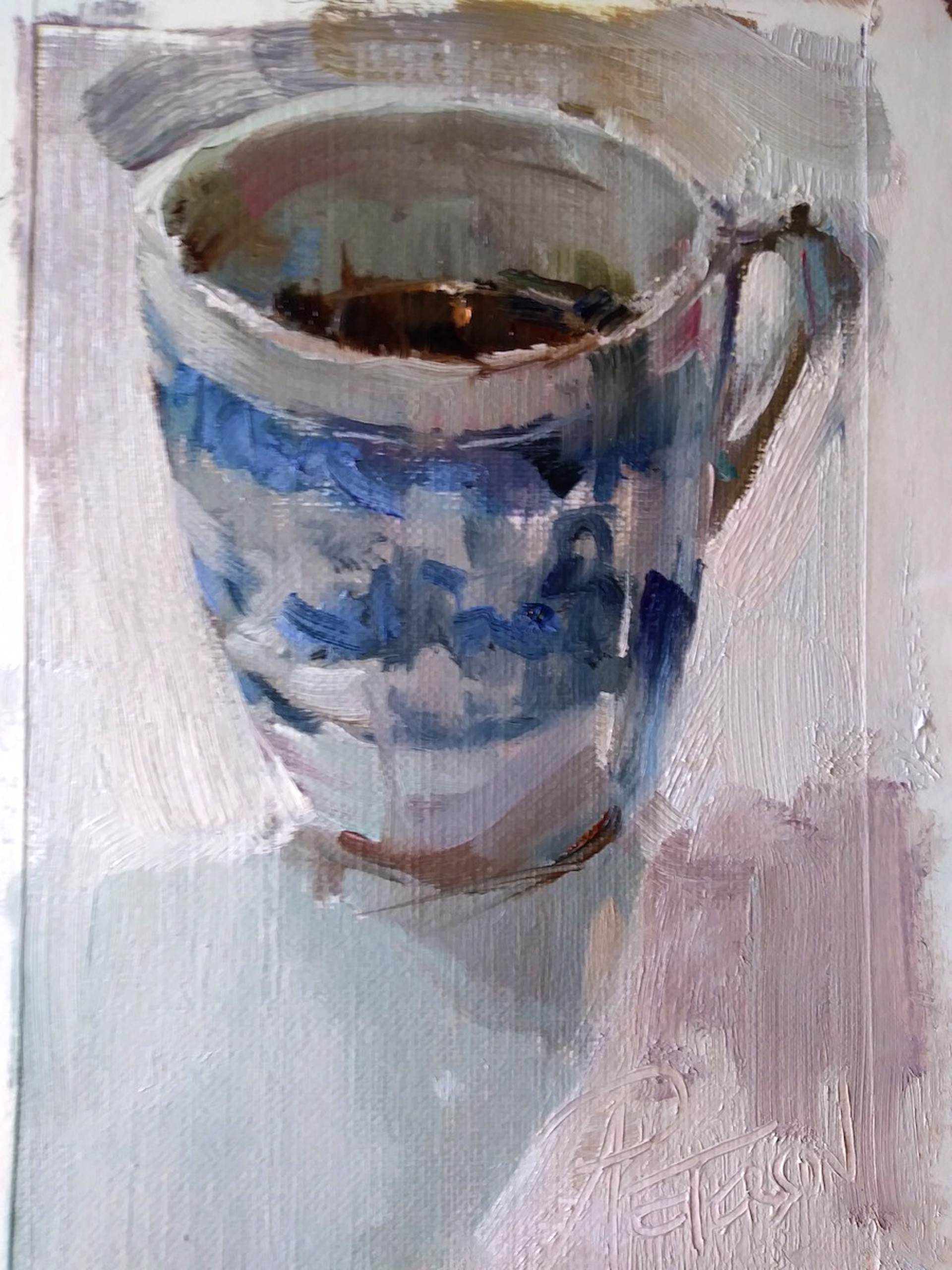 Blue and White by Amy R. Peterson