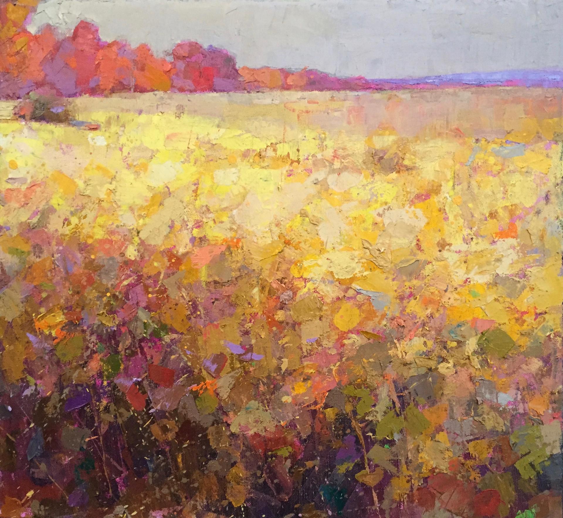 Field in Yellow by Larry Horowitz