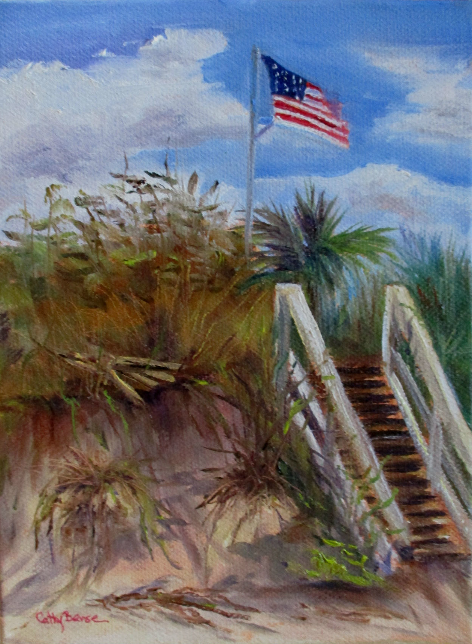 America A Beautiful Day by Cathy Berse