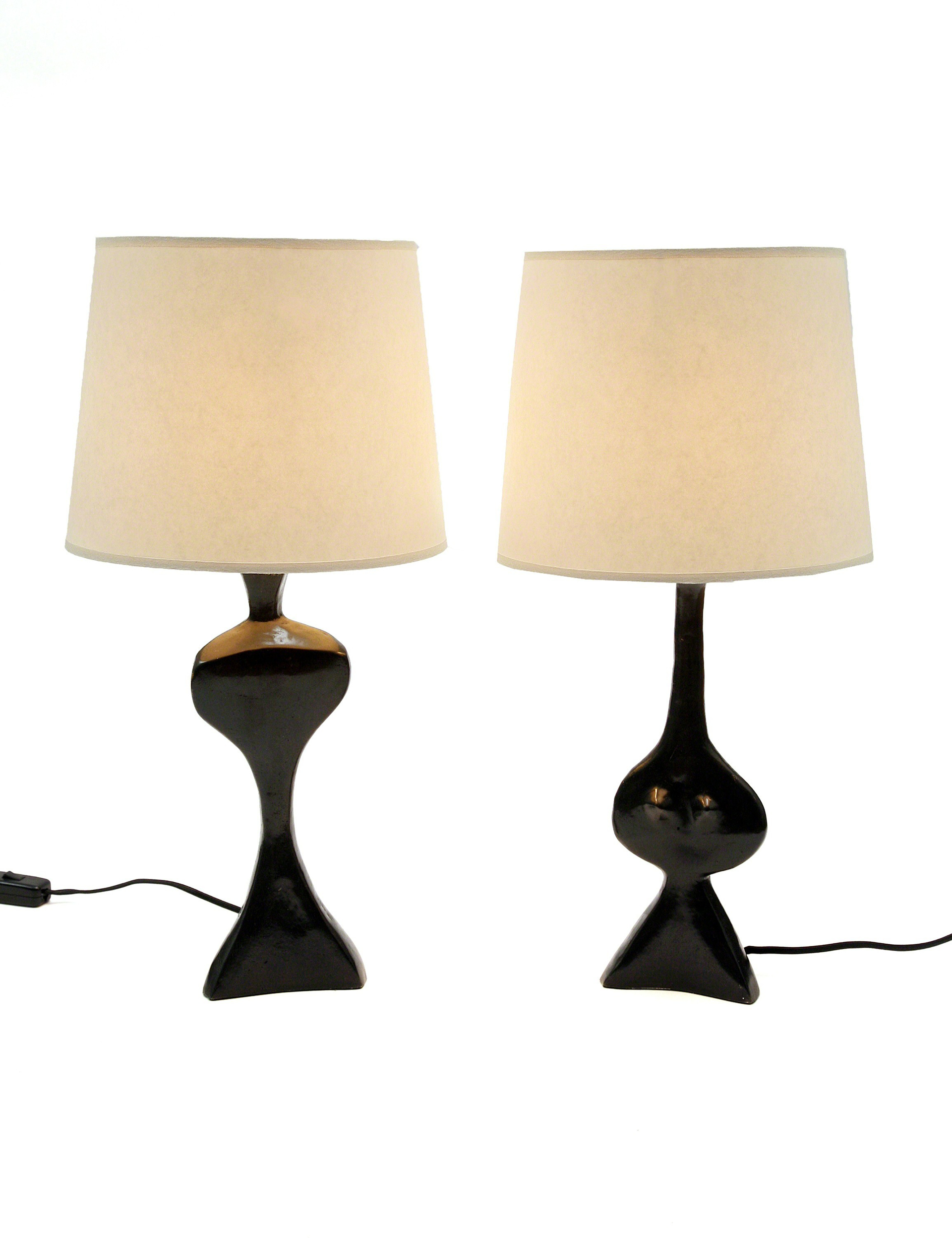 """Adam and Eve"" Lamps   by Jacques Jarrige"