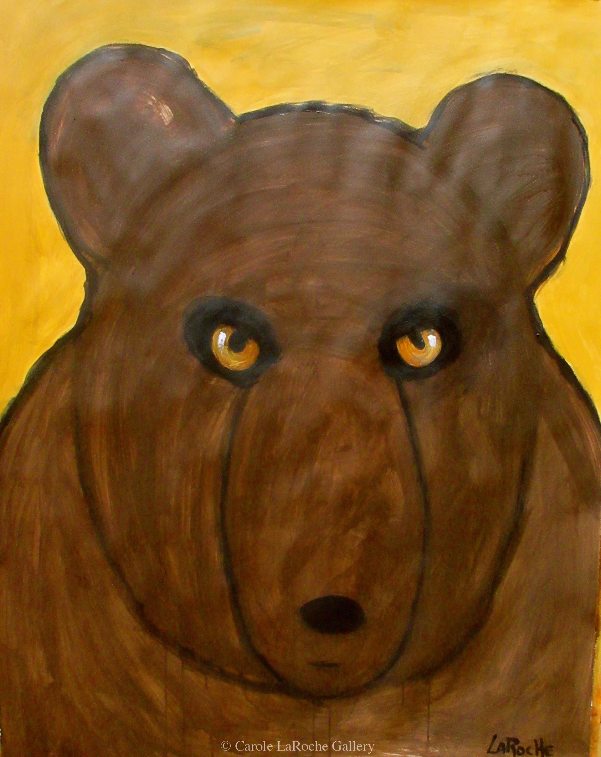 BIG BROWN BEAR by Carole LaRoche