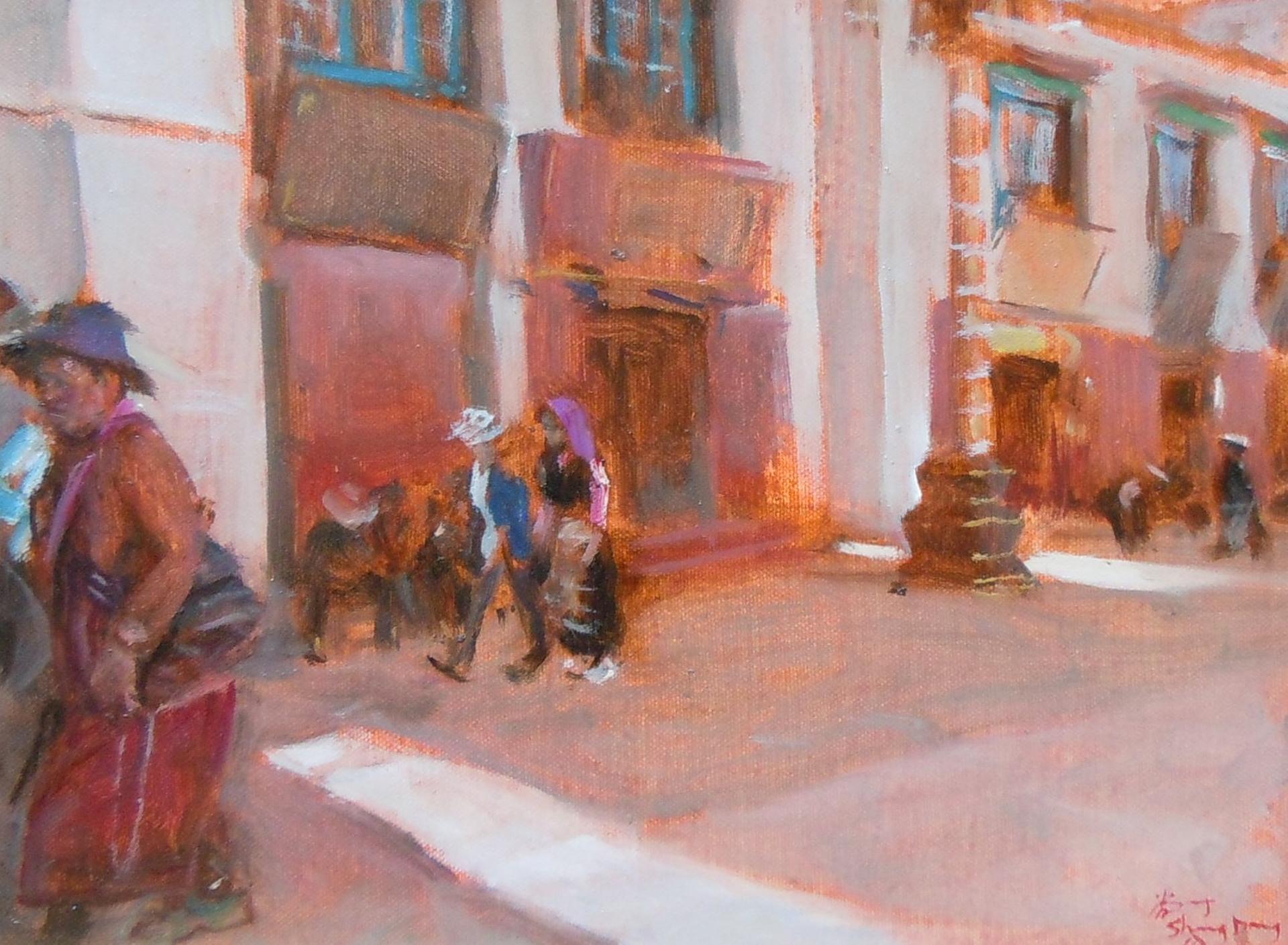 Tibetan Study 1 by Shang Ding