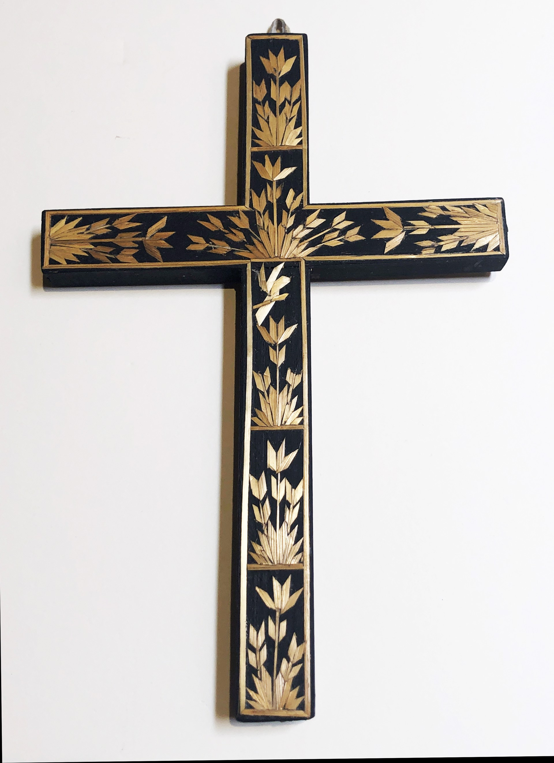 Straw Cross by Paula Rodriquez