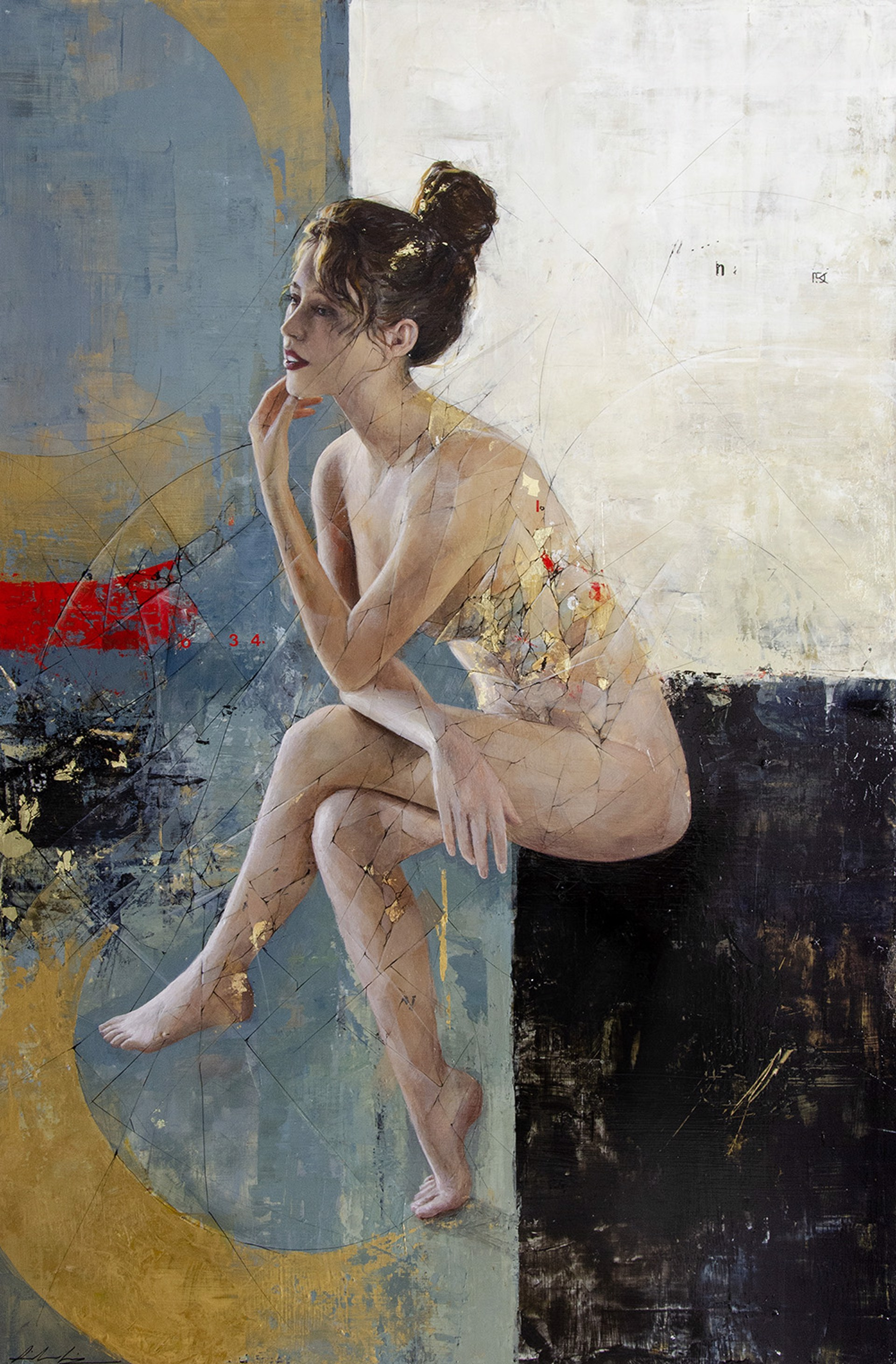 Seated Woman by Aiden Kringen