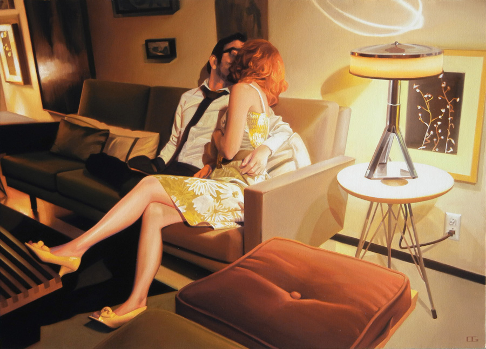 The Kissers (S/N) by Carrie Graber