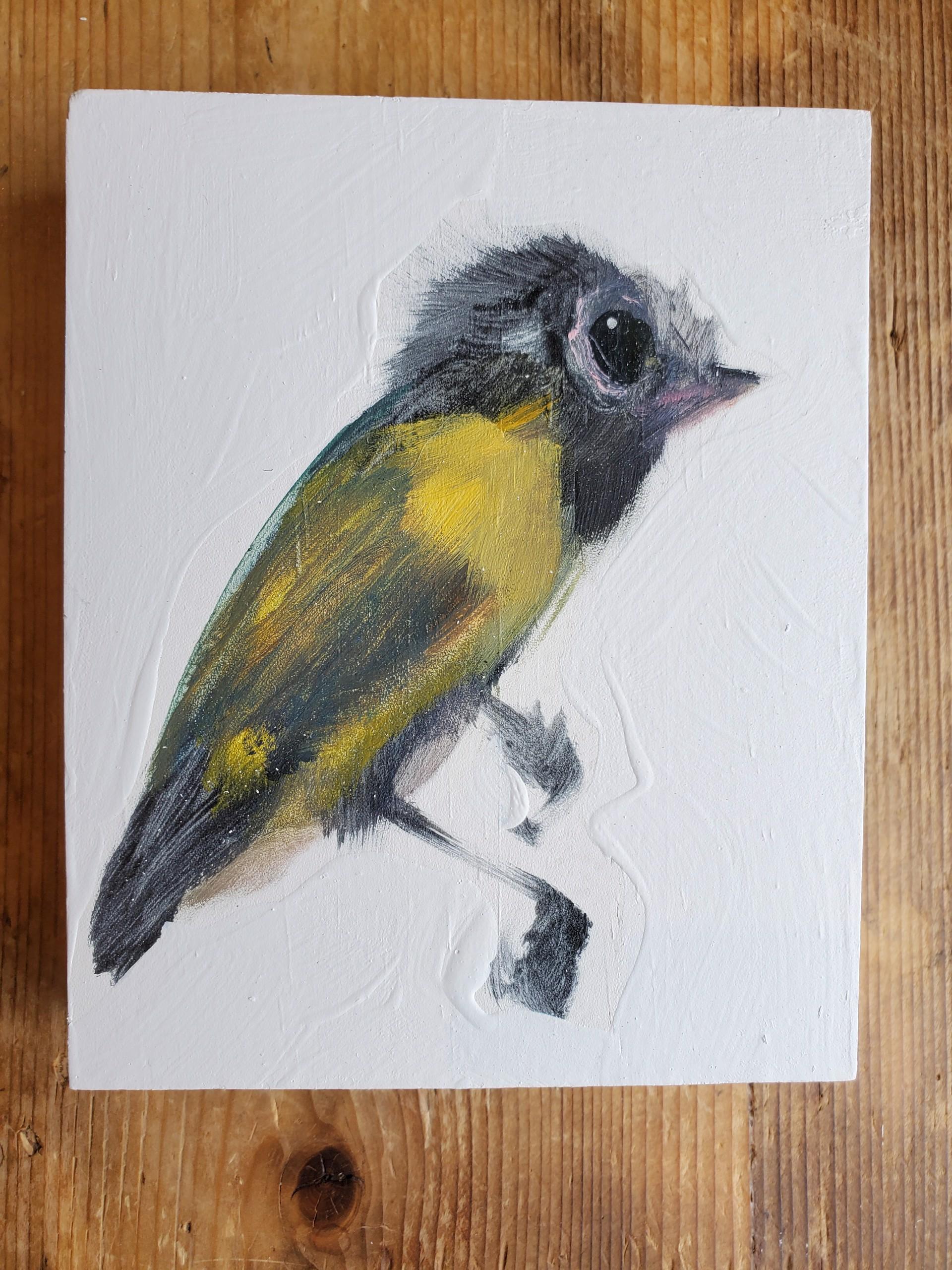 Medium Bird Block by Diane Kilgore Condon