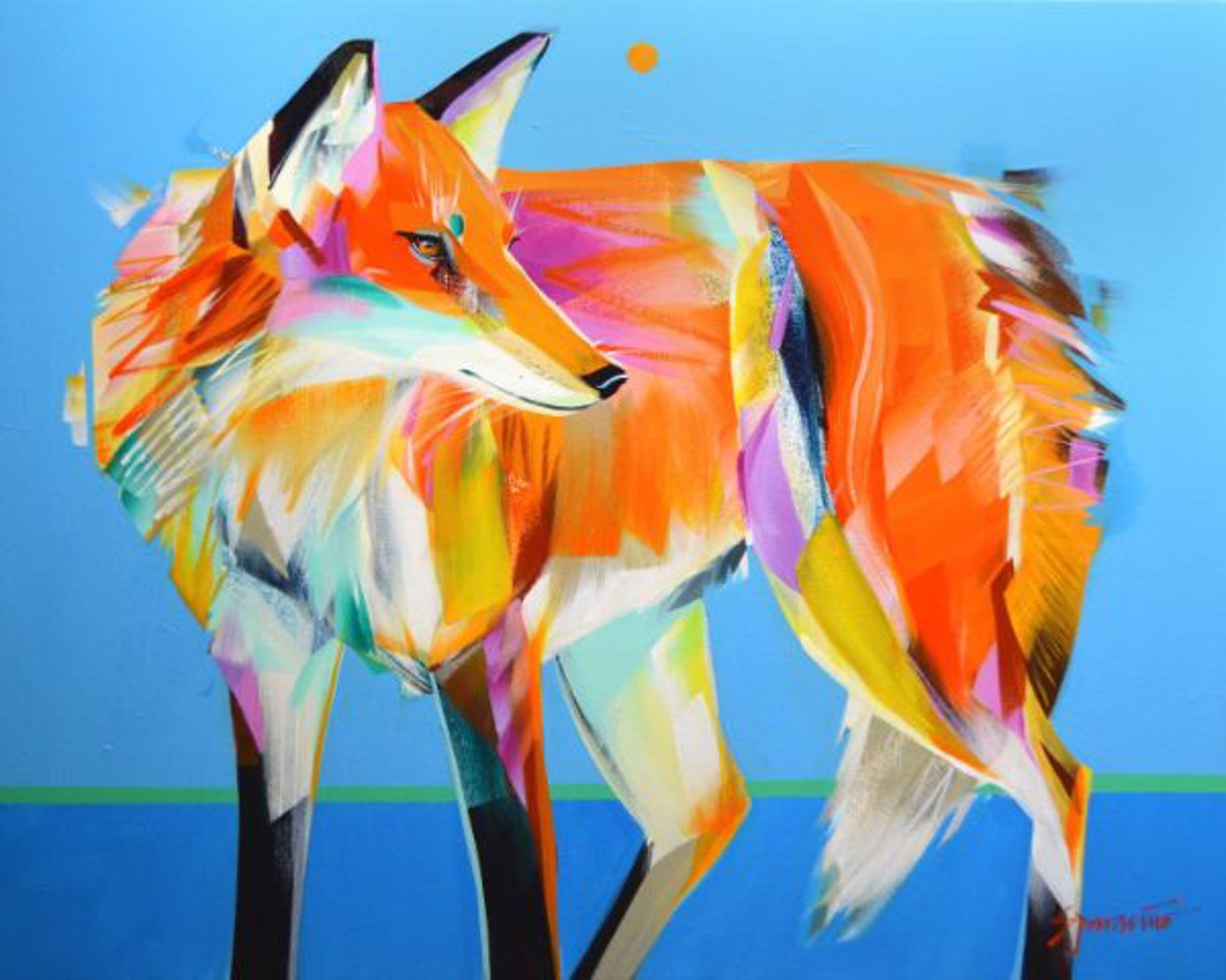 Fox Fire by JENNIFER SPARACINO
