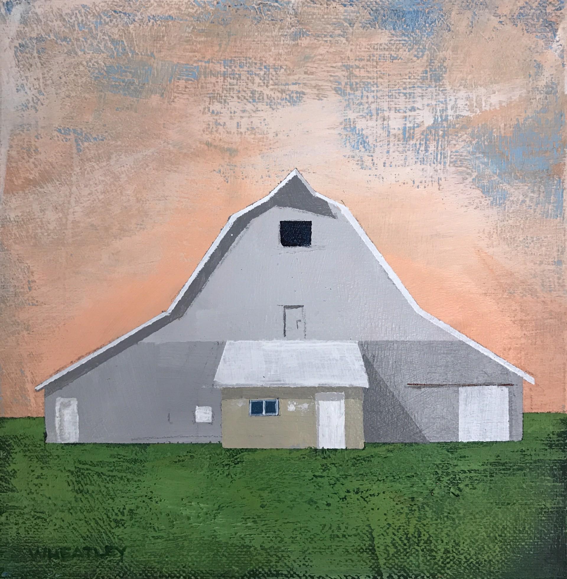 Gray Barn by Justin Wheatley