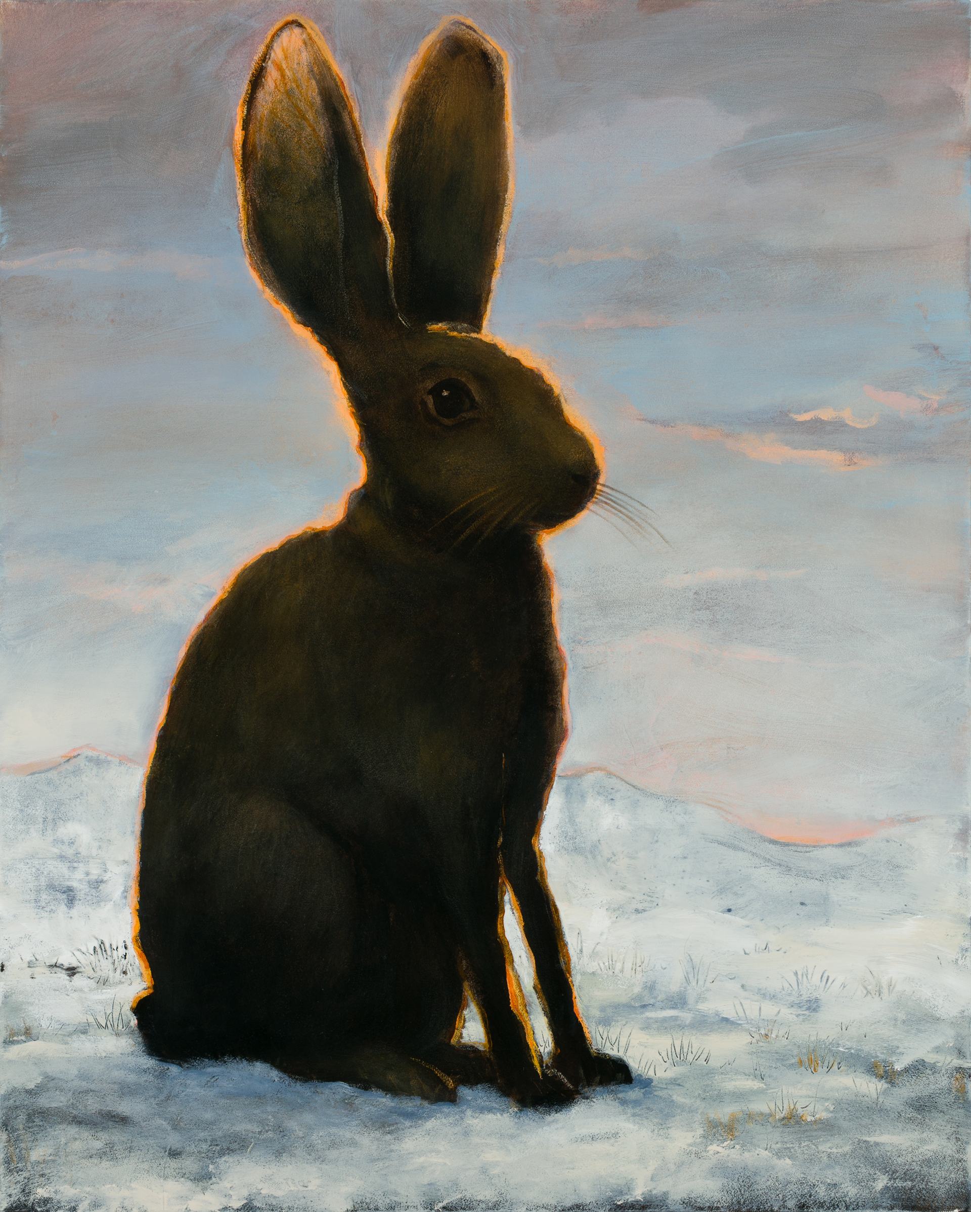 The Frozen Hare by Kevin Sloan