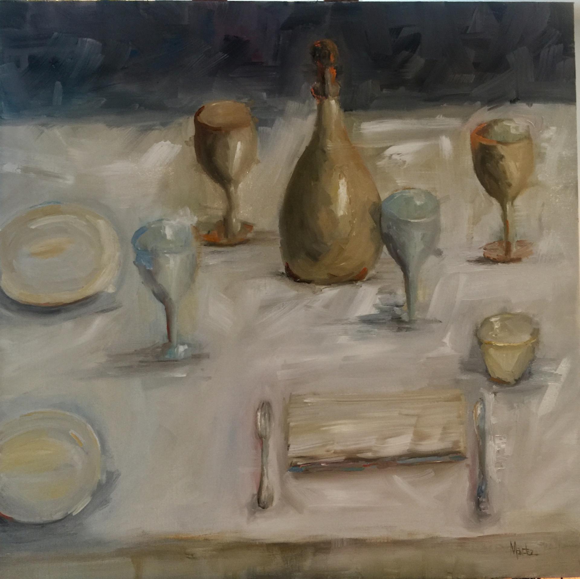 Le Déjeuner  by Yvonne Mendez