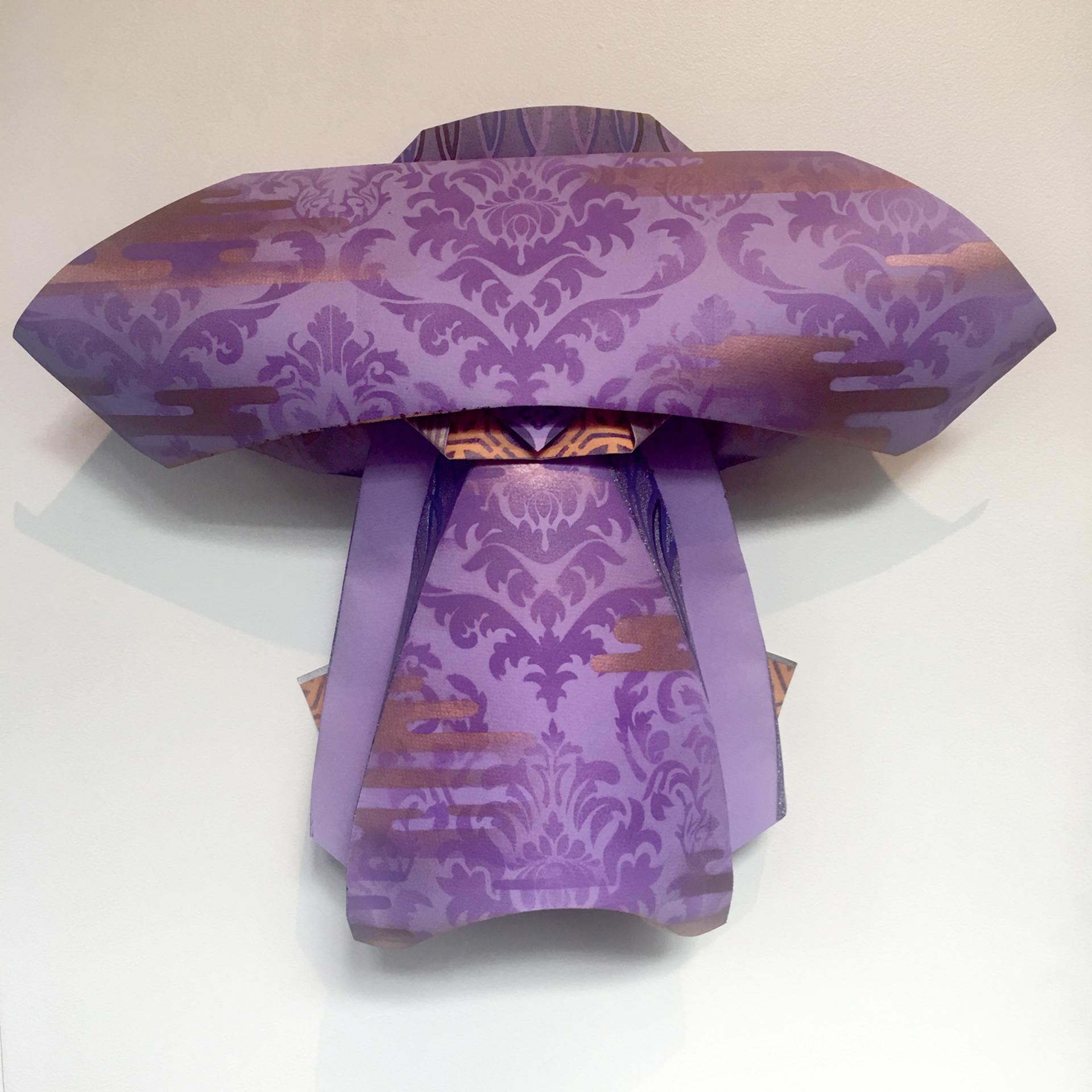 Wakudamono Series: Purple Clouds by Jonathan Wakuda Fischer