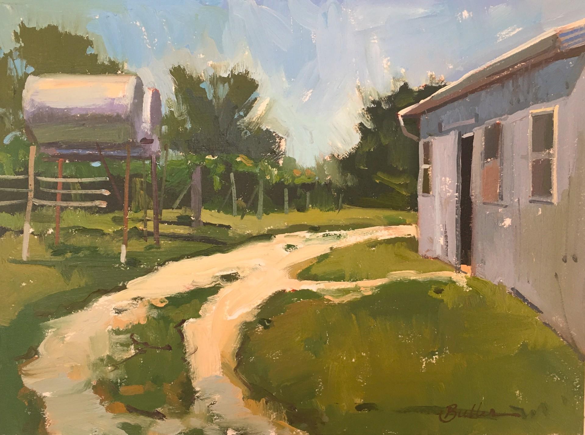 Day at the Vineyard by Samantha Buller