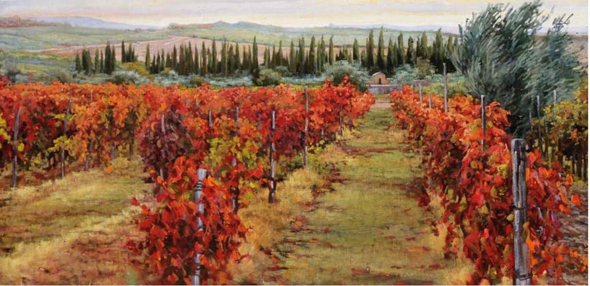 Chianti Autumn Red by Caroline Zimmermann