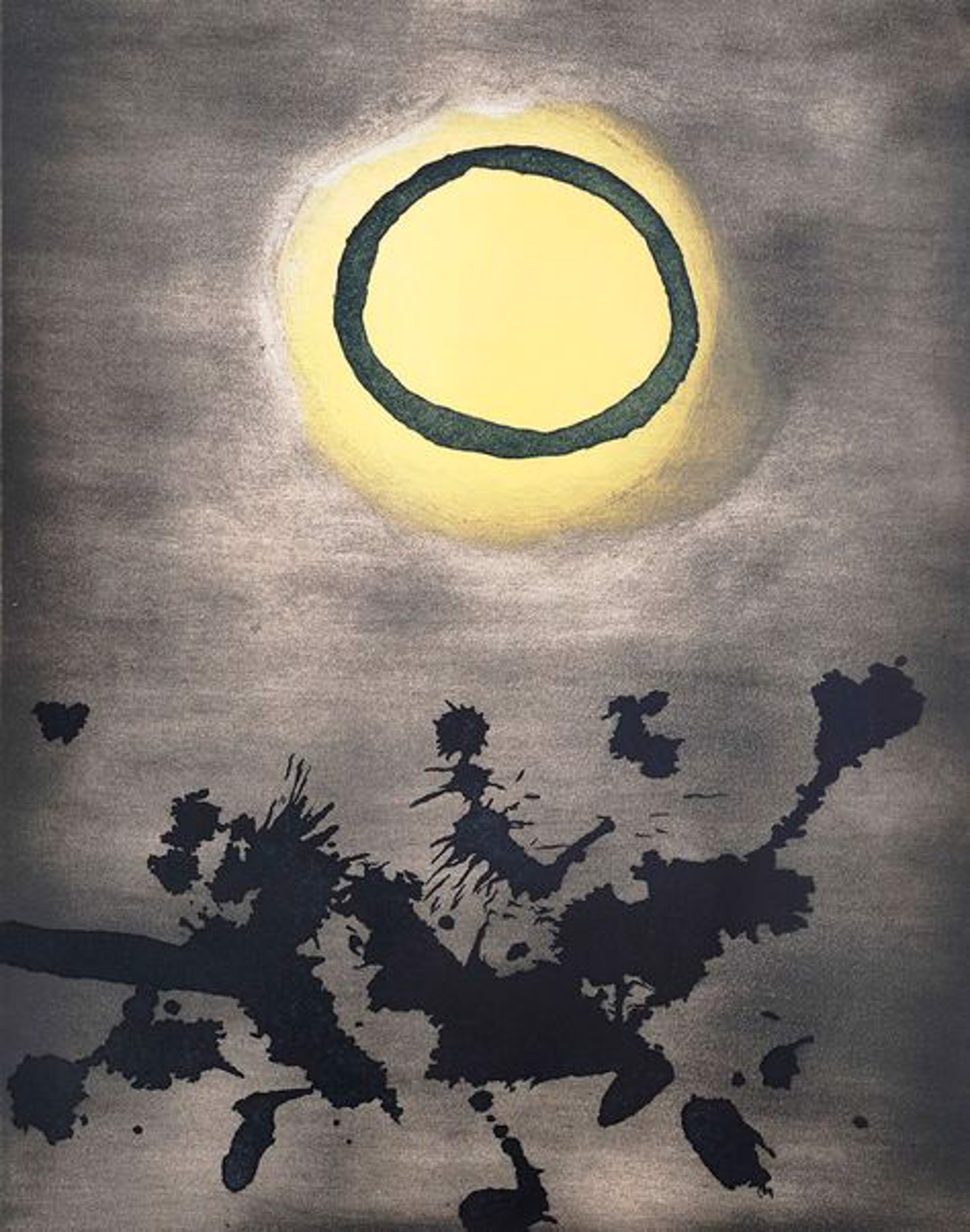 Untitled (From Prints for Phoenix House) by Adolph Gottlieb