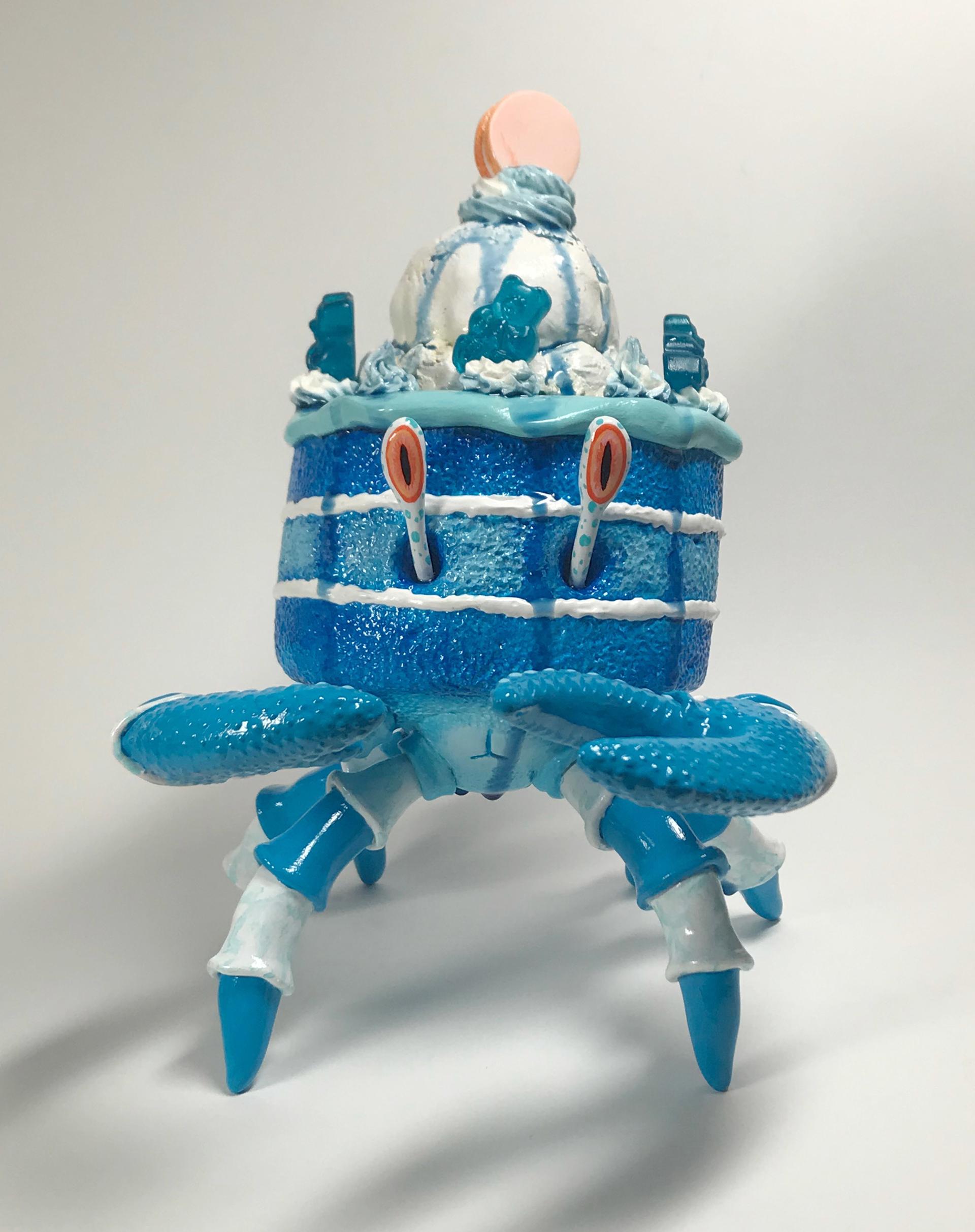 Blue Raspberry Crabcake by Corina St. Martin