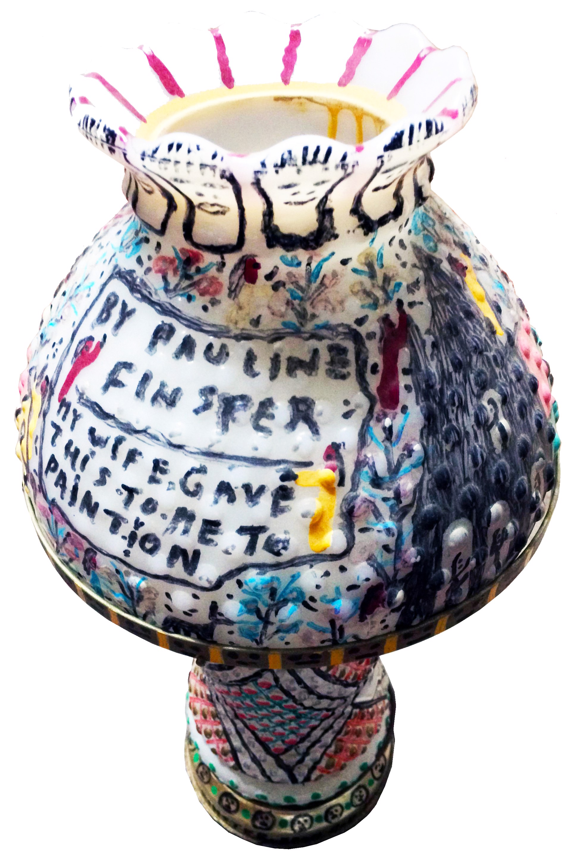 Art Lamp by Howard Finster