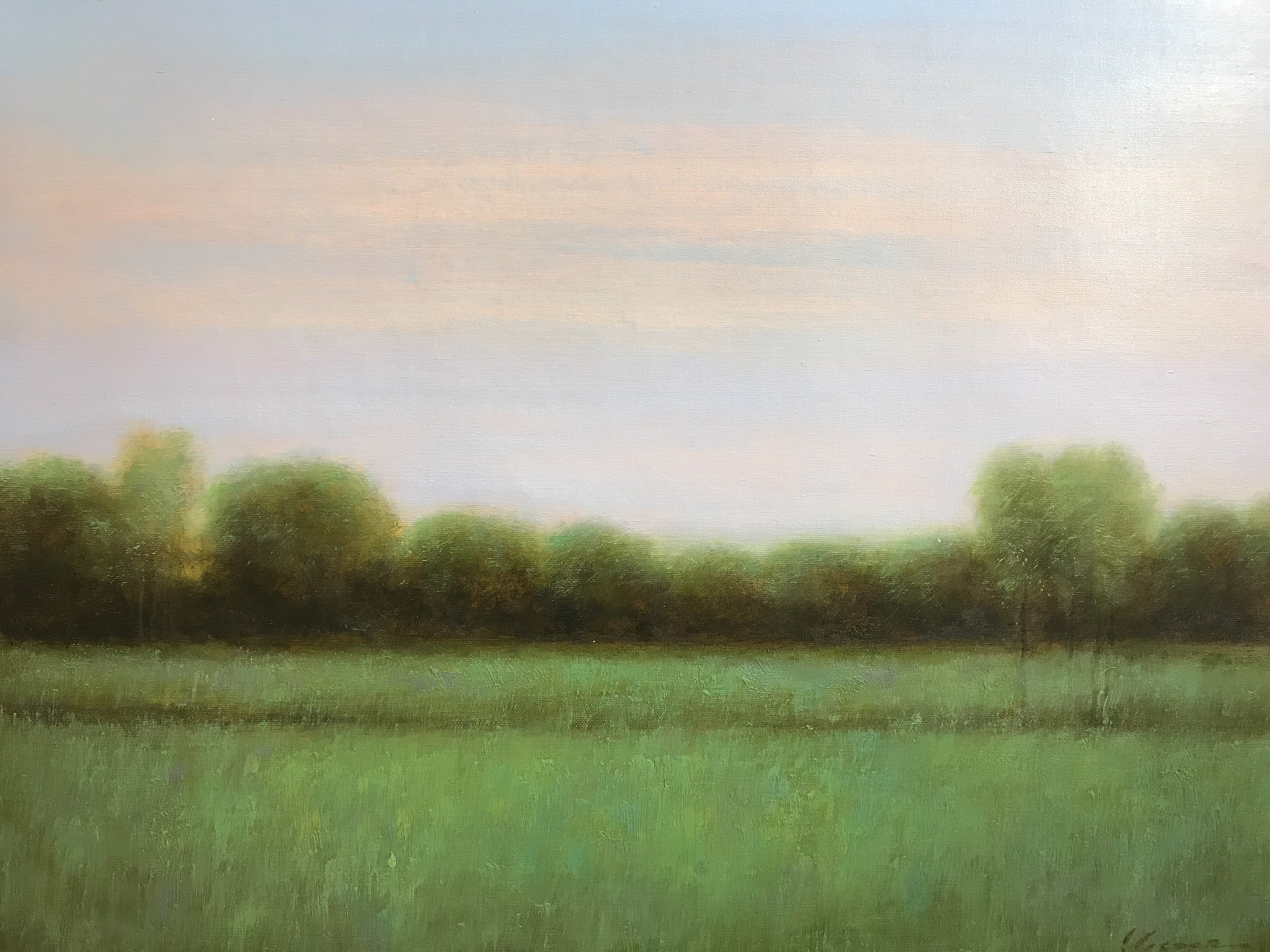 LANDSCAPE BLUE  SKY by VICTOR BALL