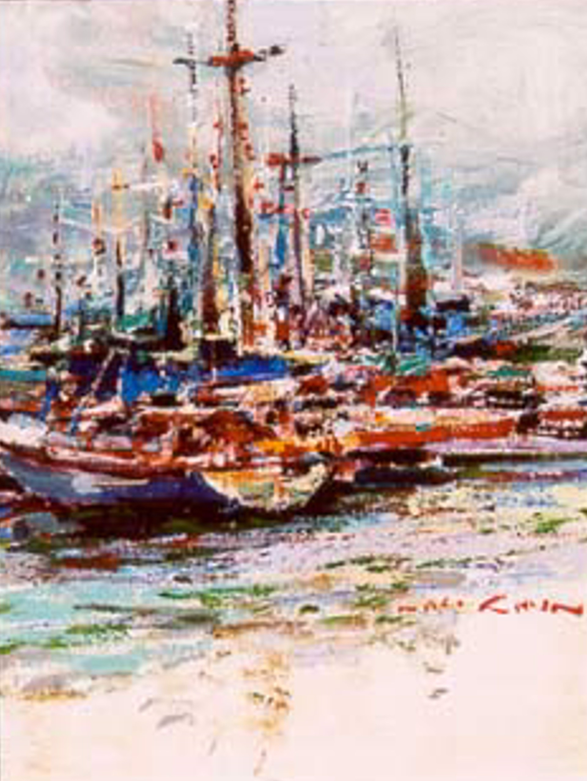 Harbor by Lau Chun