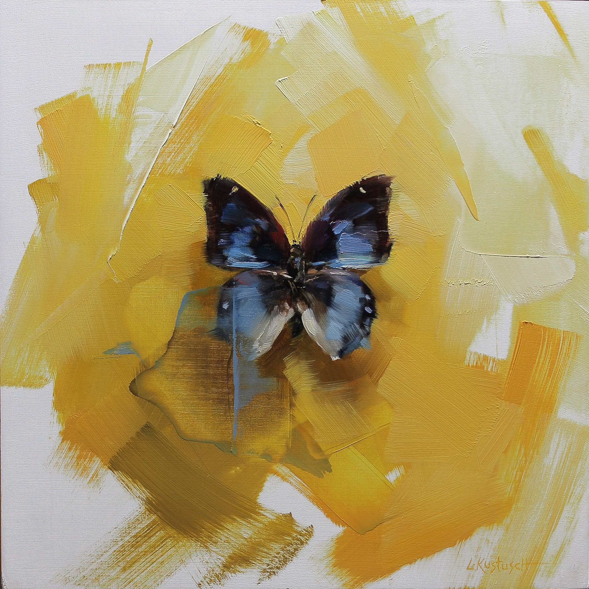The Baeotus Japetus on Yellow by Lindsey Kustusch