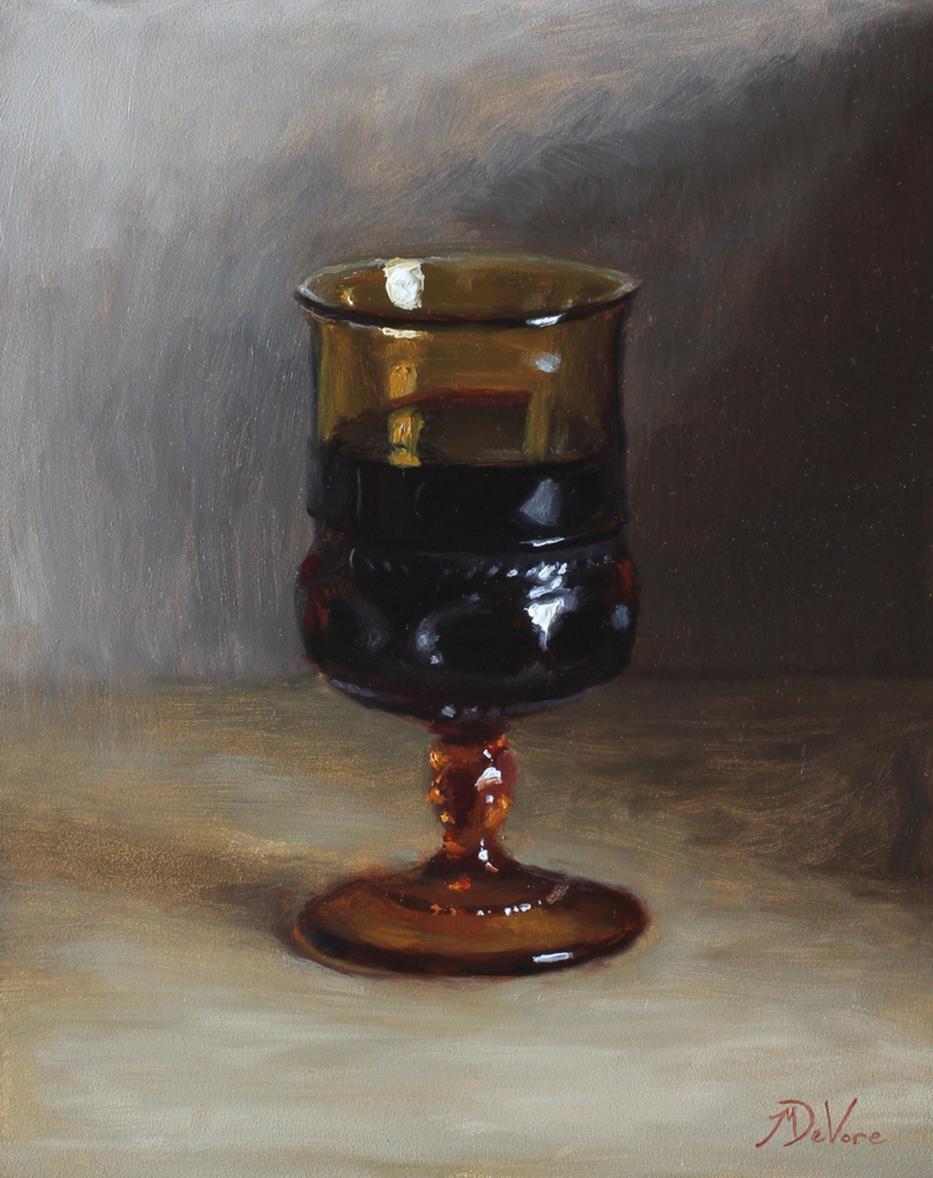 Goblet of Wine by Michael DeVore