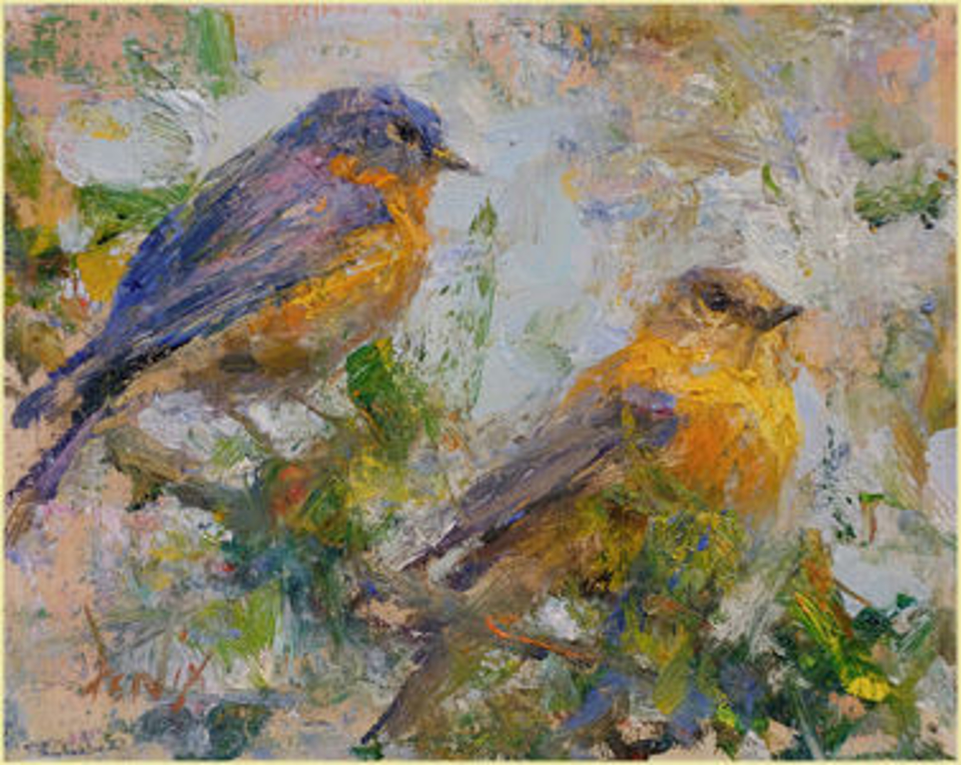 Blue Birds by Derek Penix