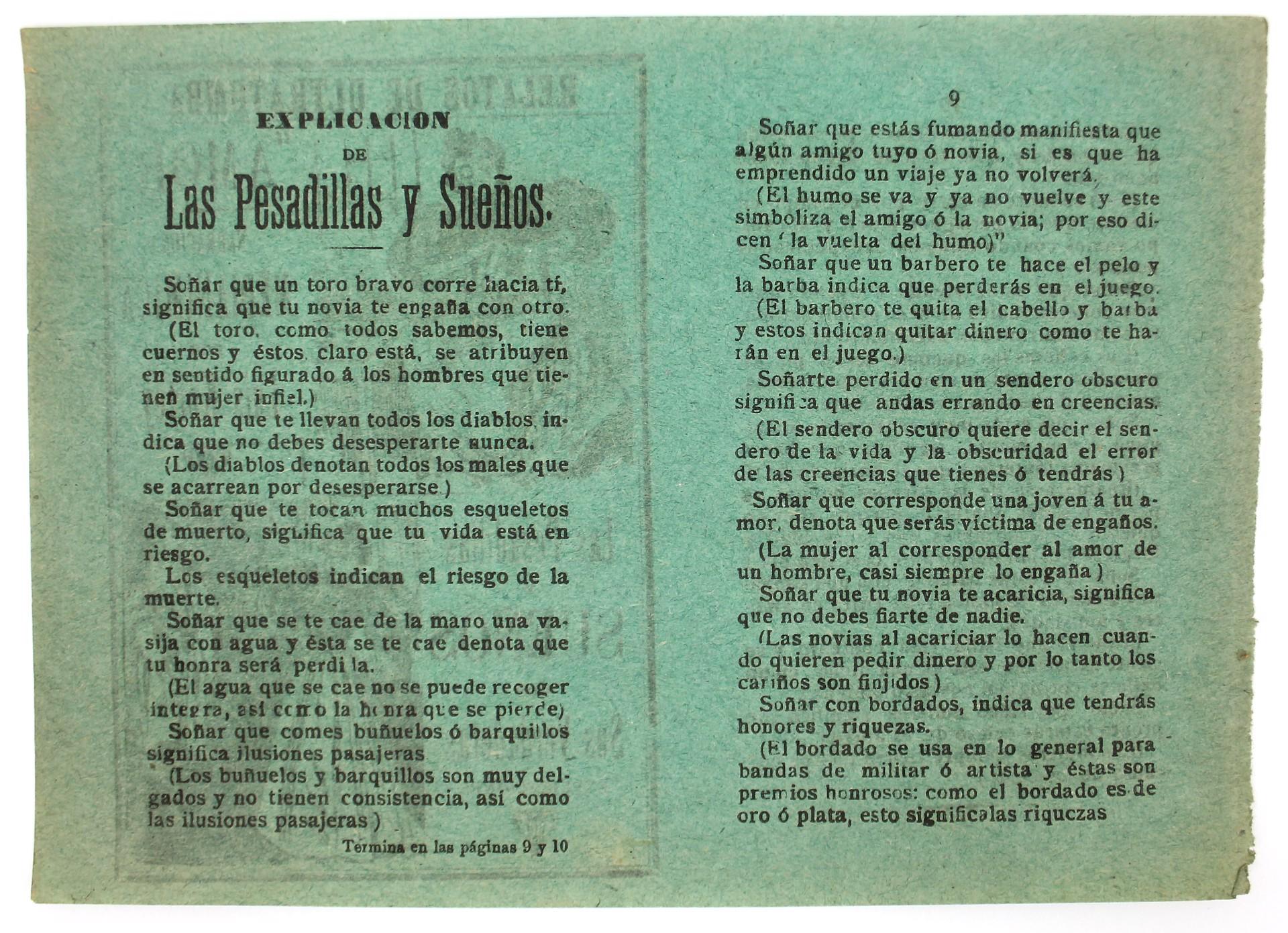 Relatos de Ultratumba: Amor y Las Pesadillas u Suenos con Sus Veraderas Explicaciones by José Guadalupe Posada (1852 - 1913)