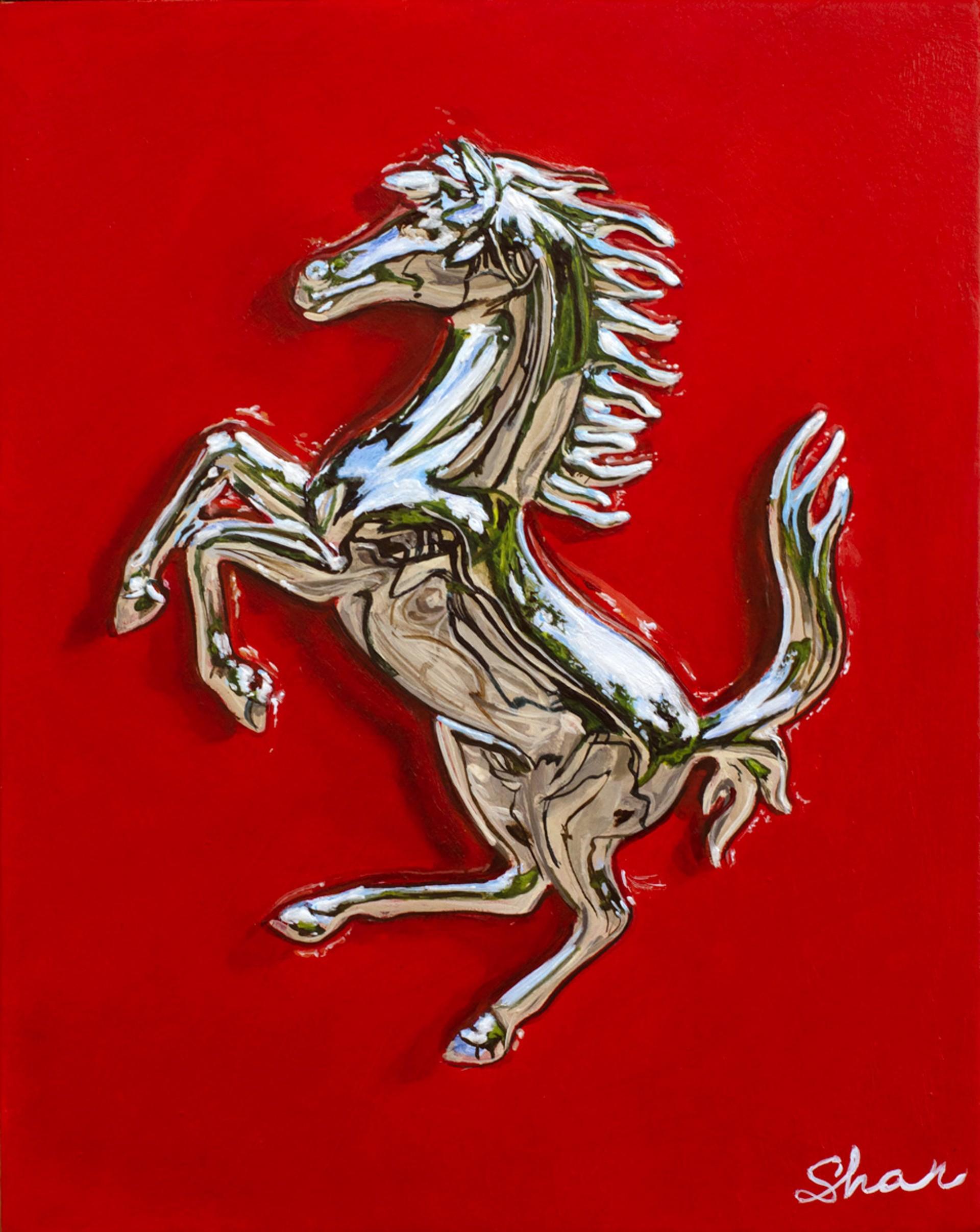 Ferrari Emblem by Shan Fannin