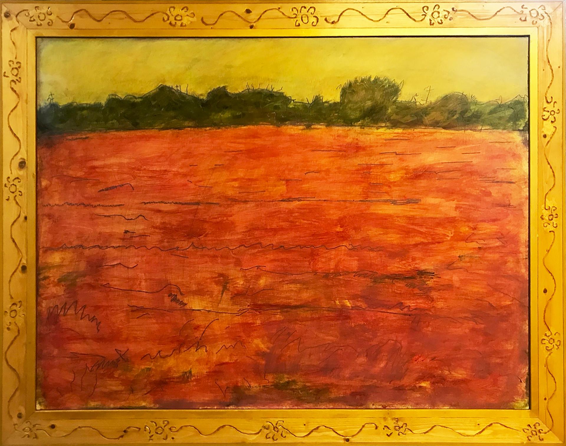 Red Grass by Robert Richter