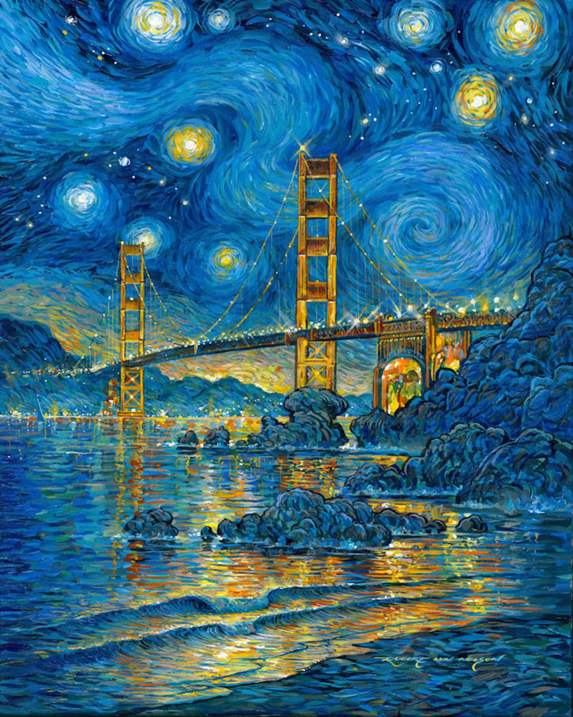 San Francisco Moods by Robert Lyn Nelson