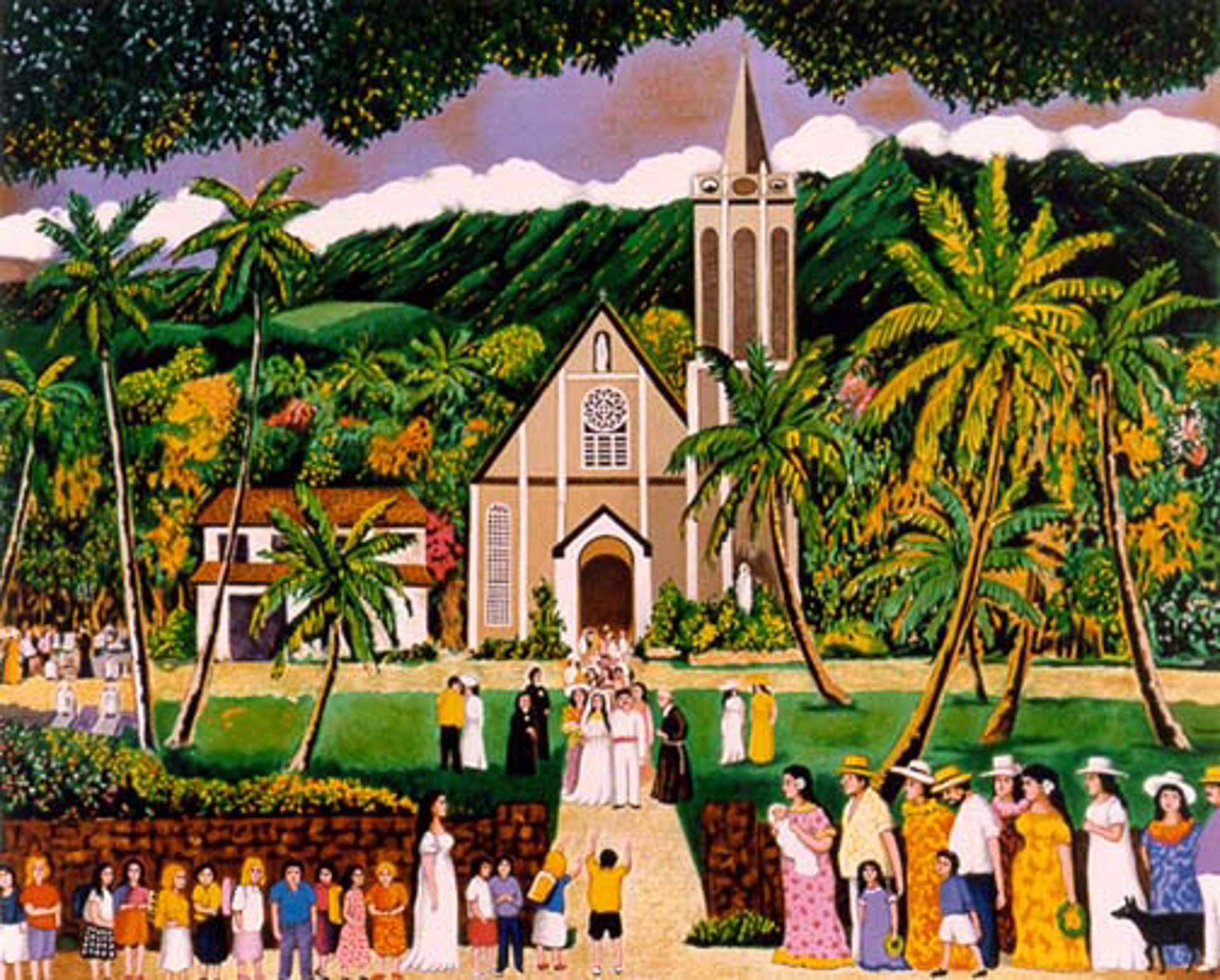 Maria Lanakila Church by Guy Buffet