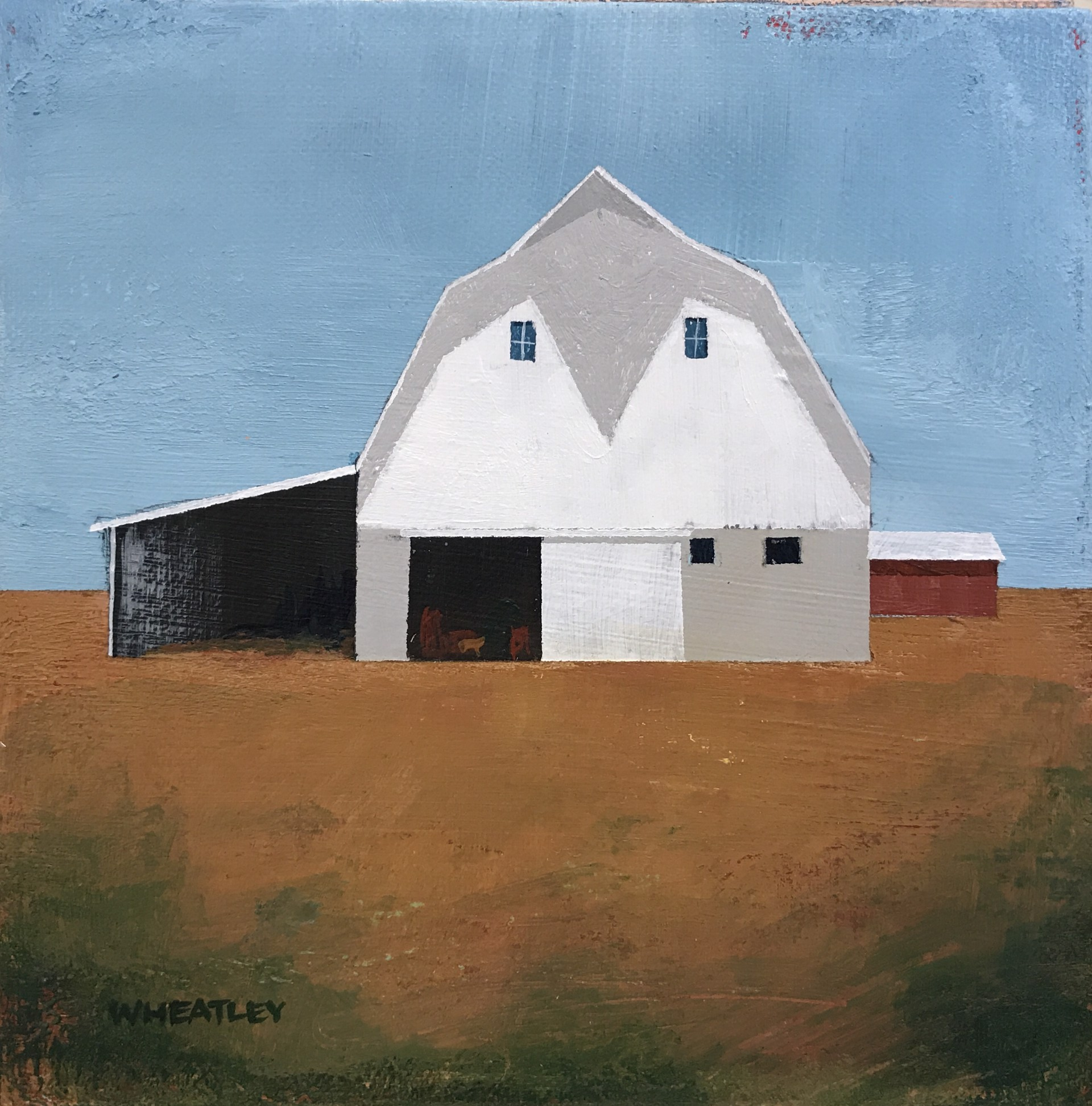 White Barn by Justin Wheatley
