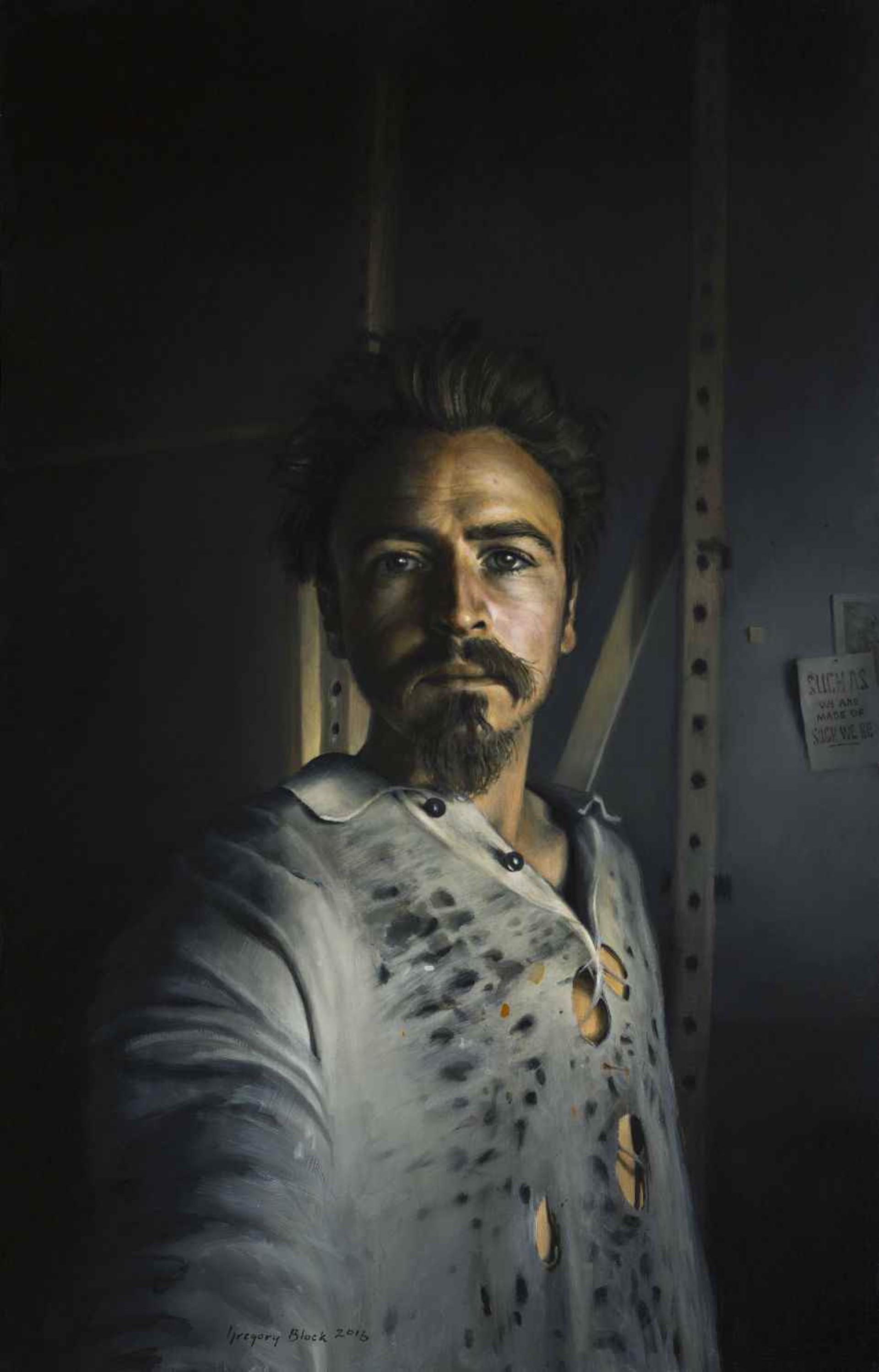 Self Portrait by Gregory Block