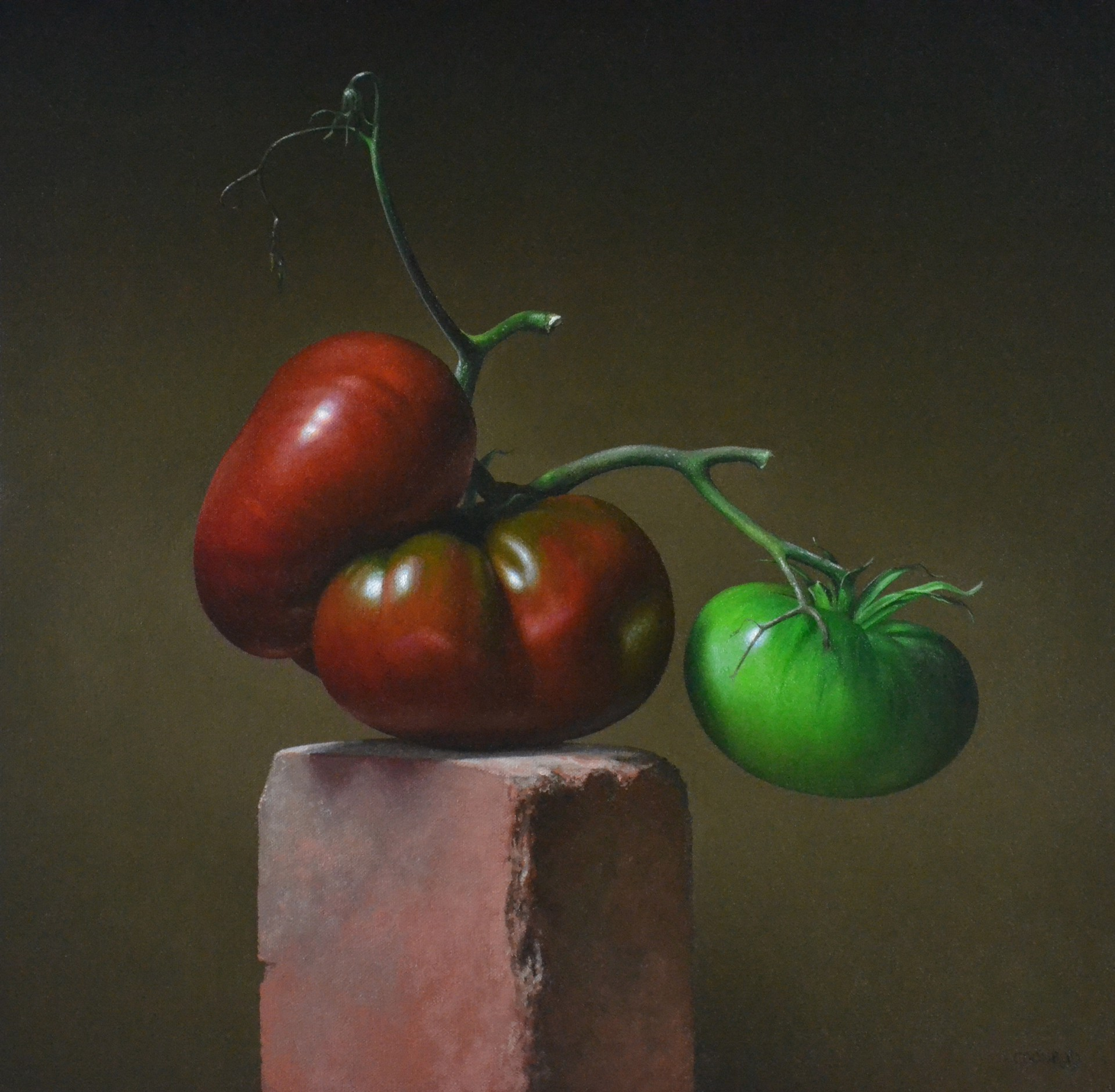 Heirloom Tomatoes by Trish Coonrod